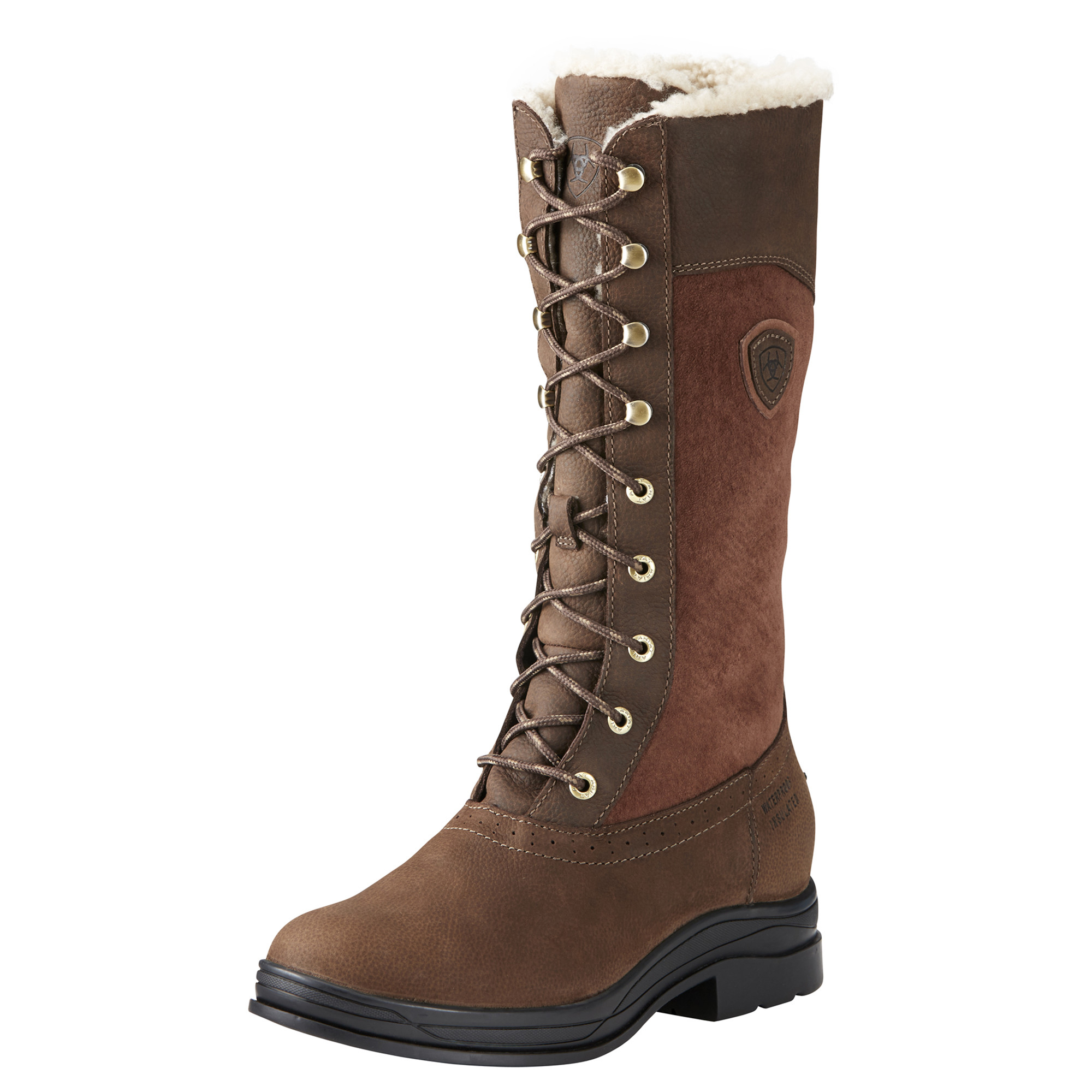 Ariat Wythburn H2O laars insulated bruin maat:40