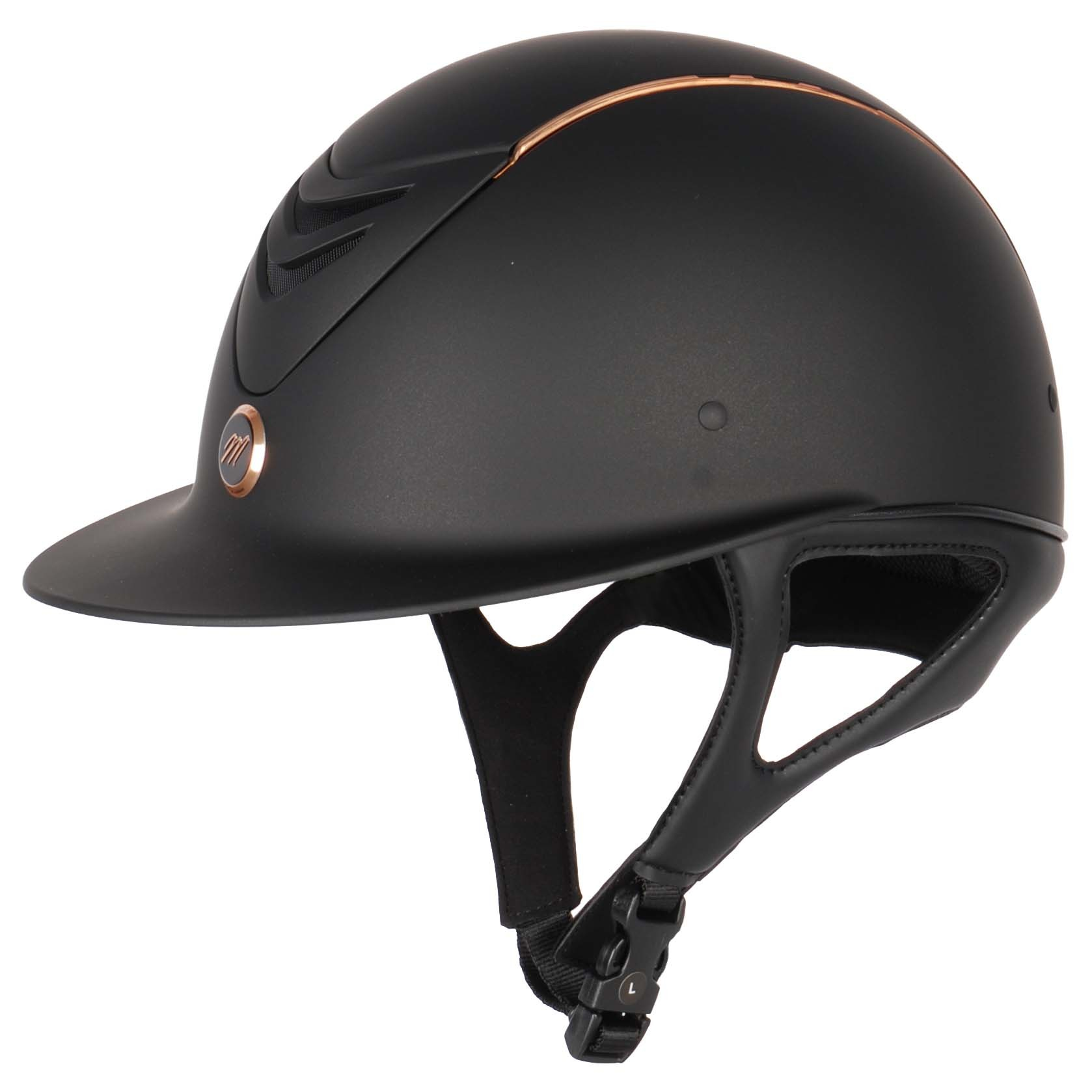 Equitheme Elegance Rose helmet