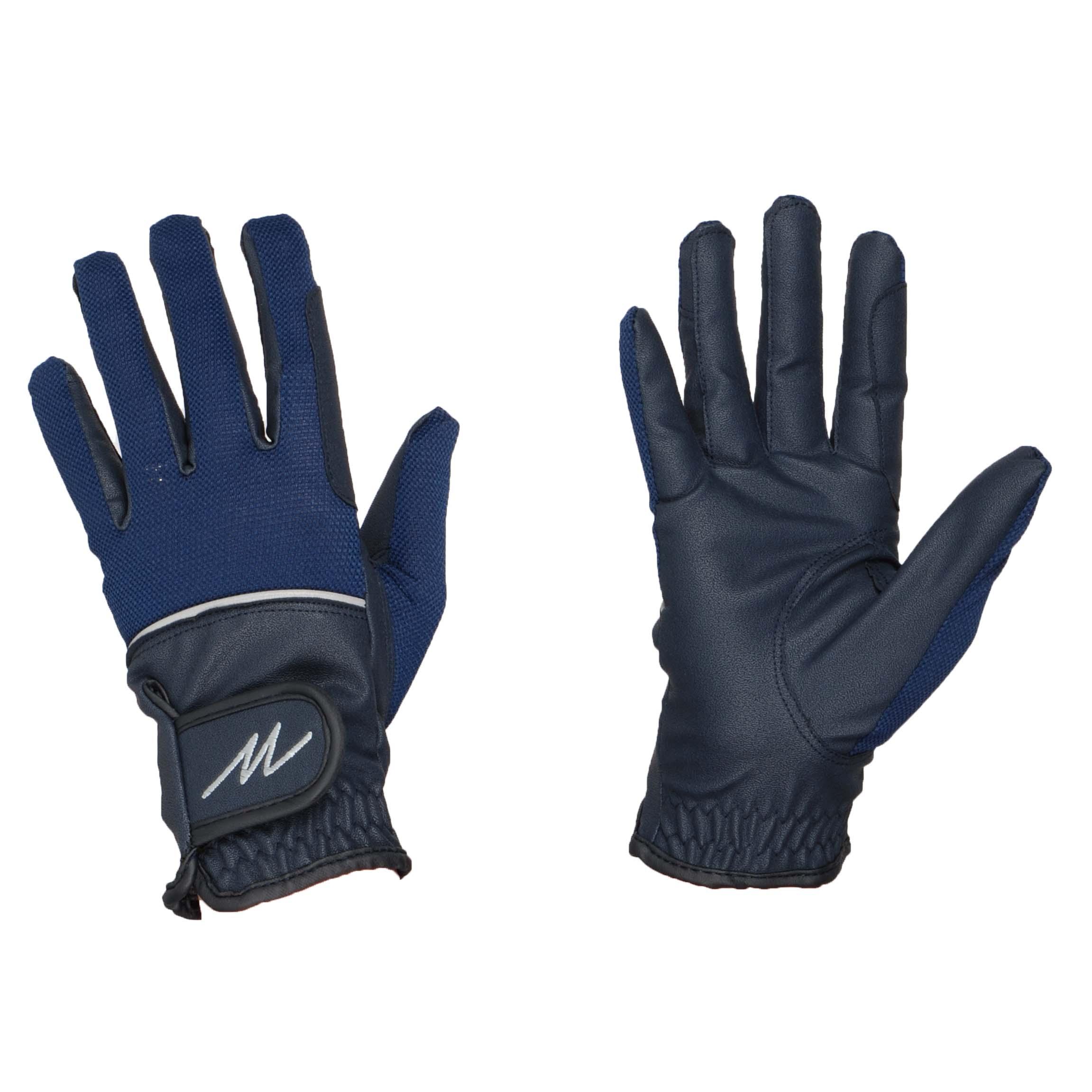 Mondoni Mendoza handschoenen donkerblauw maat:xs