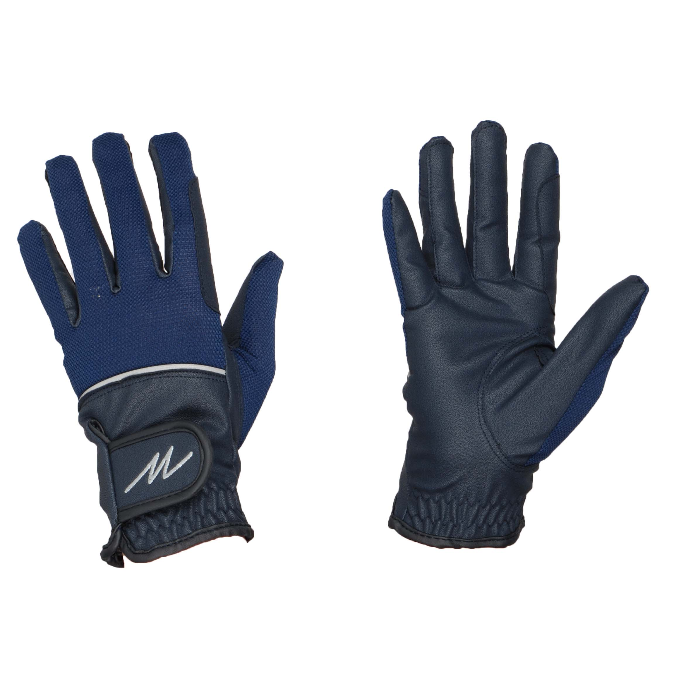 Mondoni Mendoza handschoenen donkerblauw maat:xl