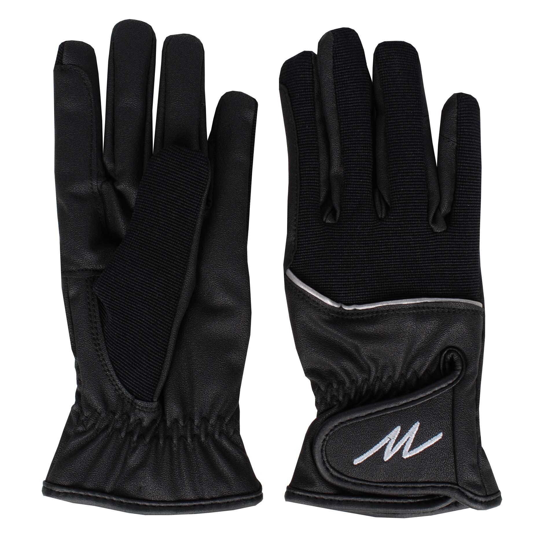 Mondoni Mendoza winter handschoenen zwart maat:s