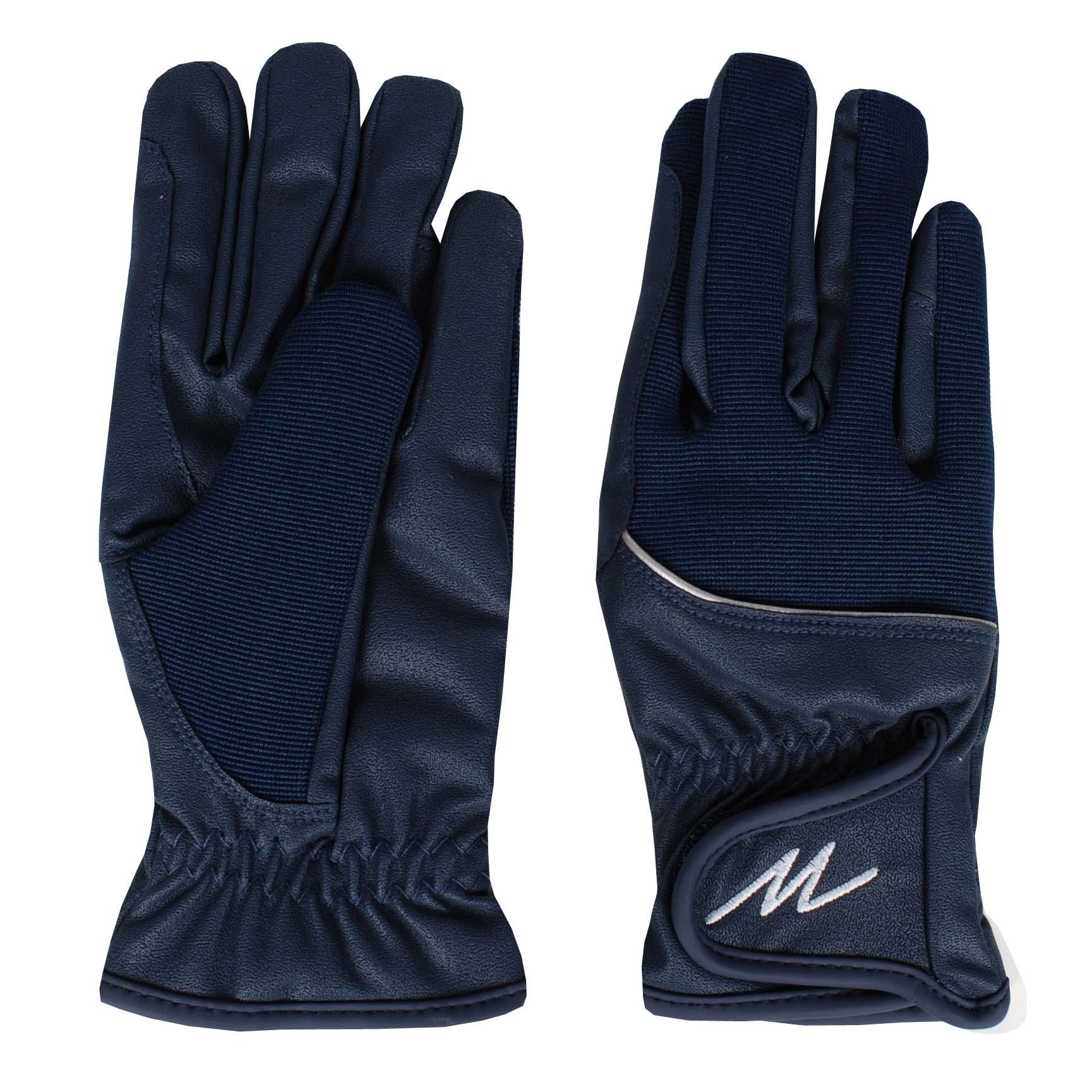 Mondoni Mendoza winter handschoenen donkerblauw maat:m