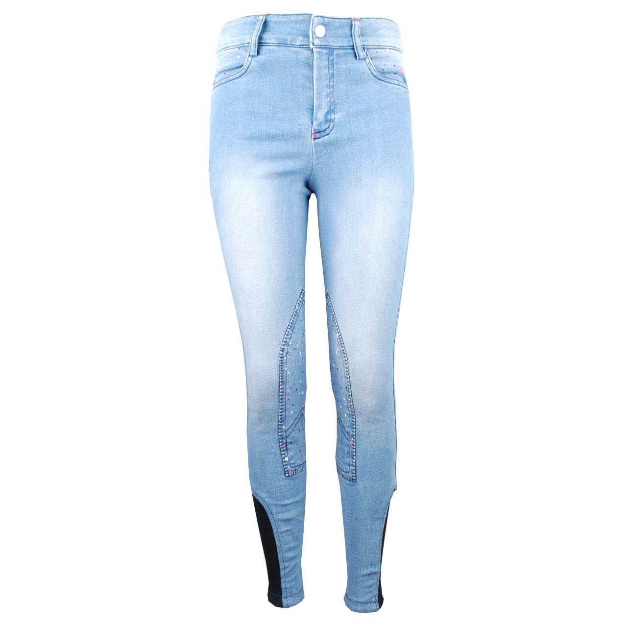 Mondoni Skills jr rijbroek jeans maat:128