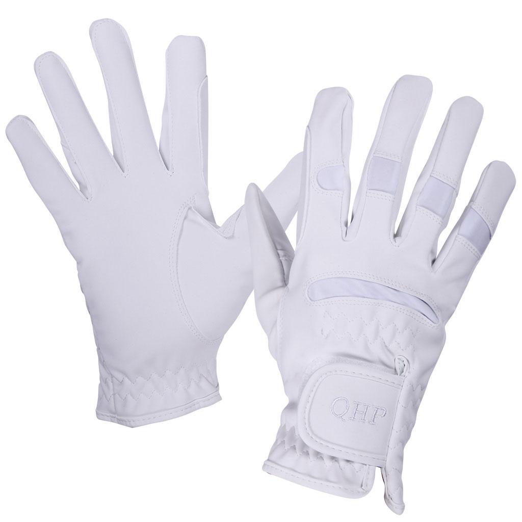 QHP multi handschoenen wit maat:2