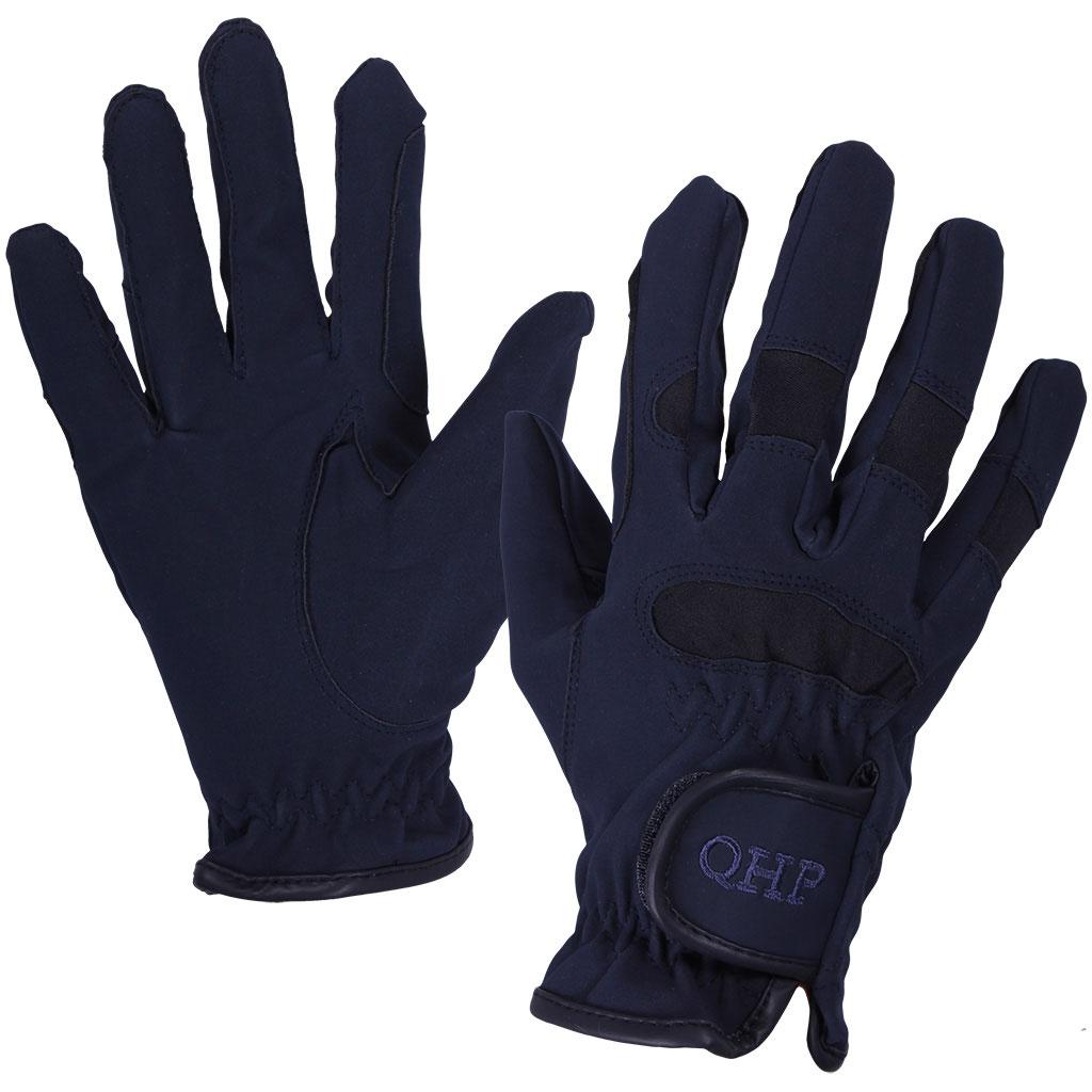 QHP multi handschoenen donkerblauw maat:m