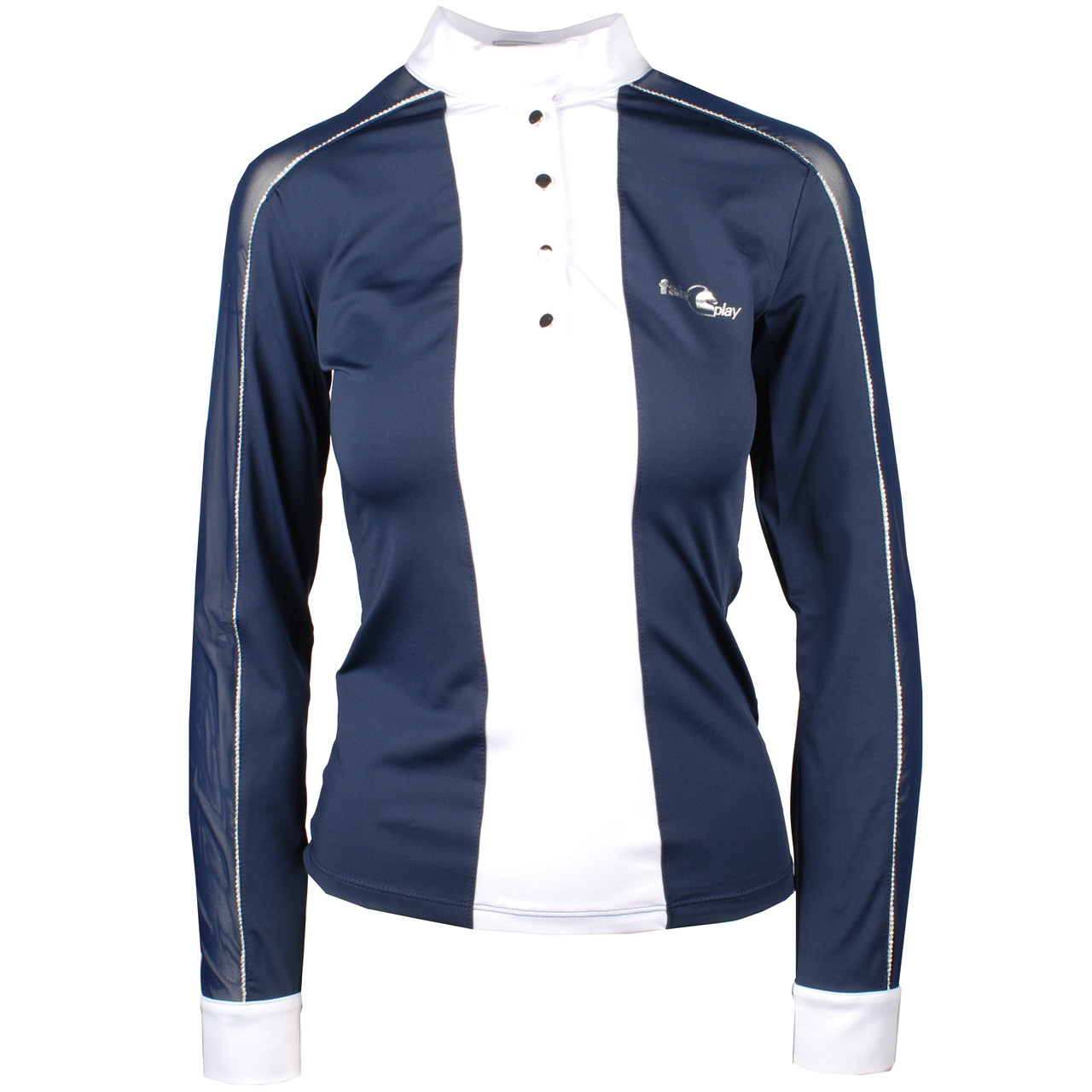 Fair Play Claire lm wedstrijdshirt donkerblauw maat:38