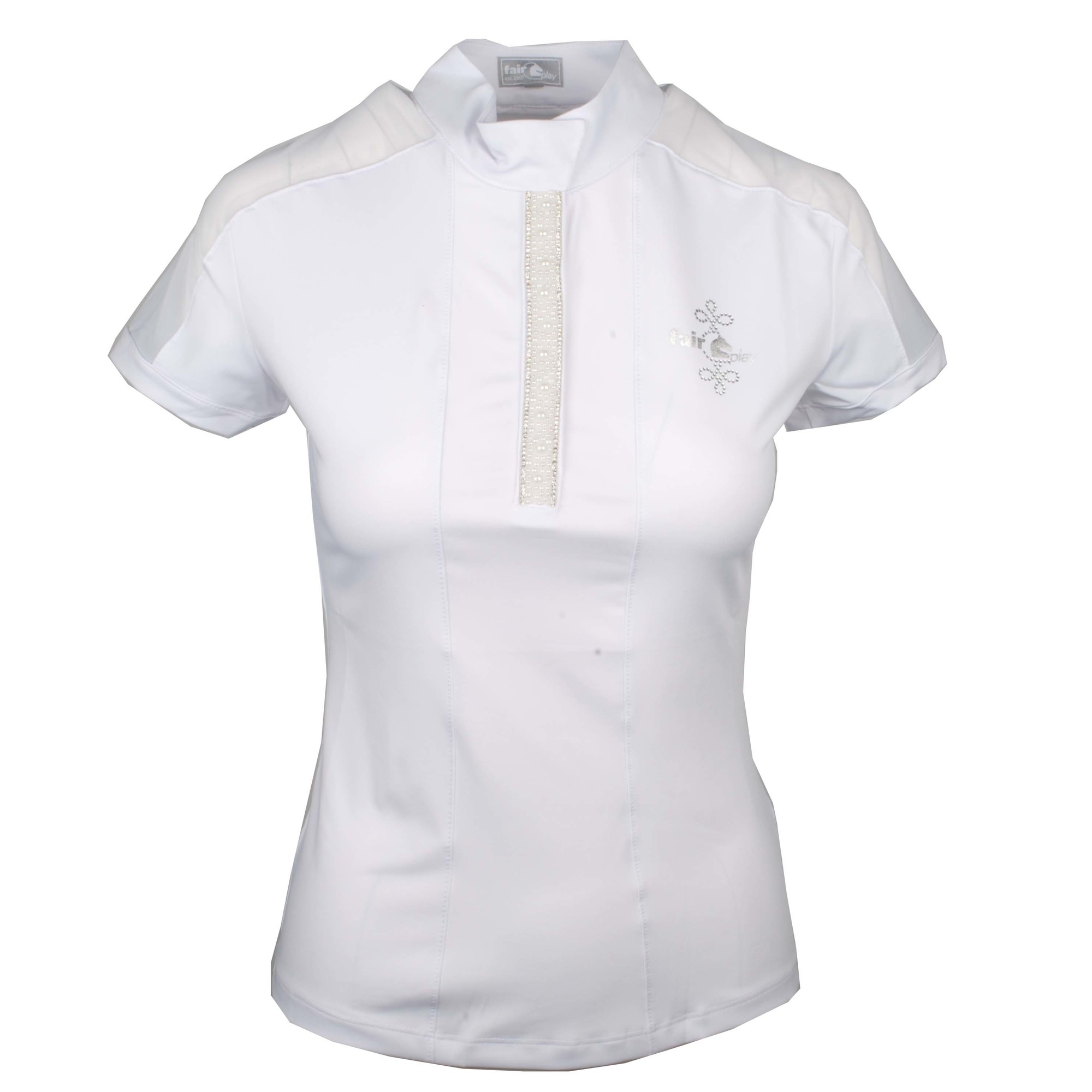 Fair Play Claire Pearl wedstrijdshirt wit maat:40