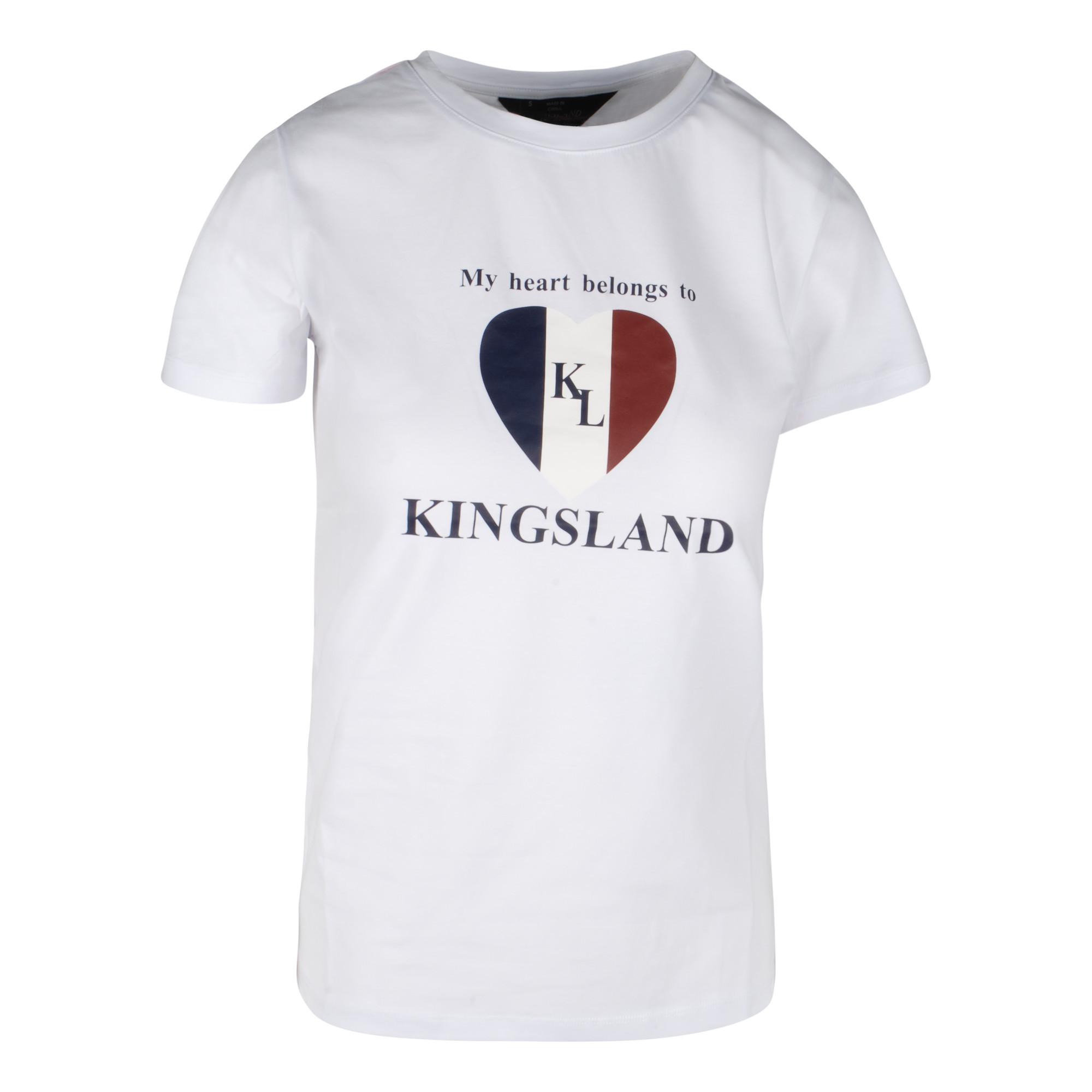 Kingsland Ibiza tshirt wit maat:xxs