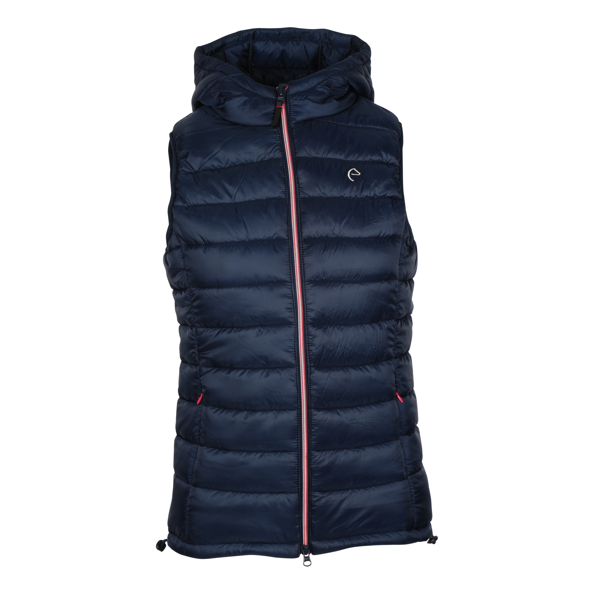 Equitheme Padded bodywarmer donkerblauw maat:s