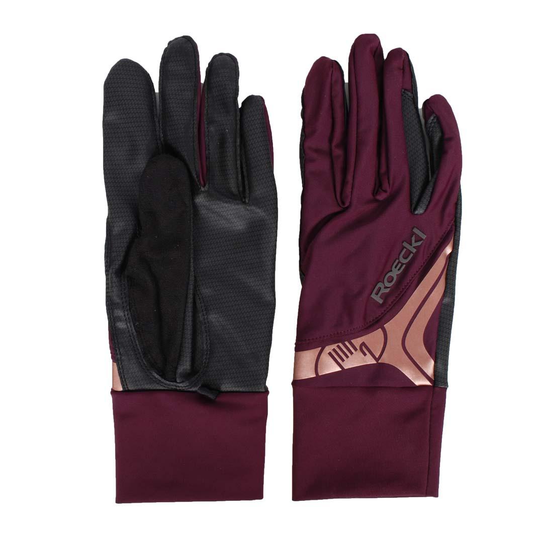 Roeckl Melbourne handschoen bordeaux maat:8,5