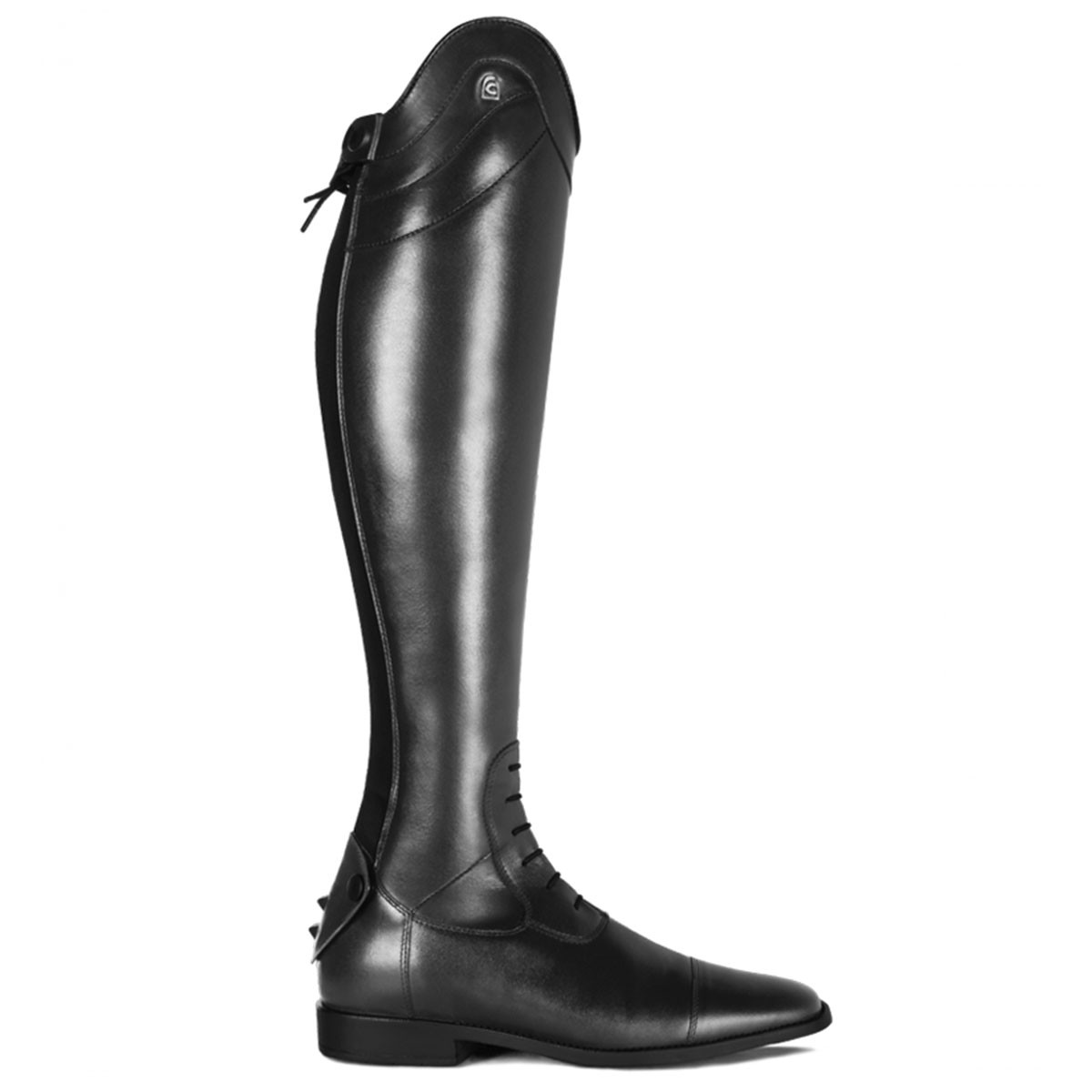 Cavallo Linus Slim rijlaars zwart maat:6-6.5 / h48-w34