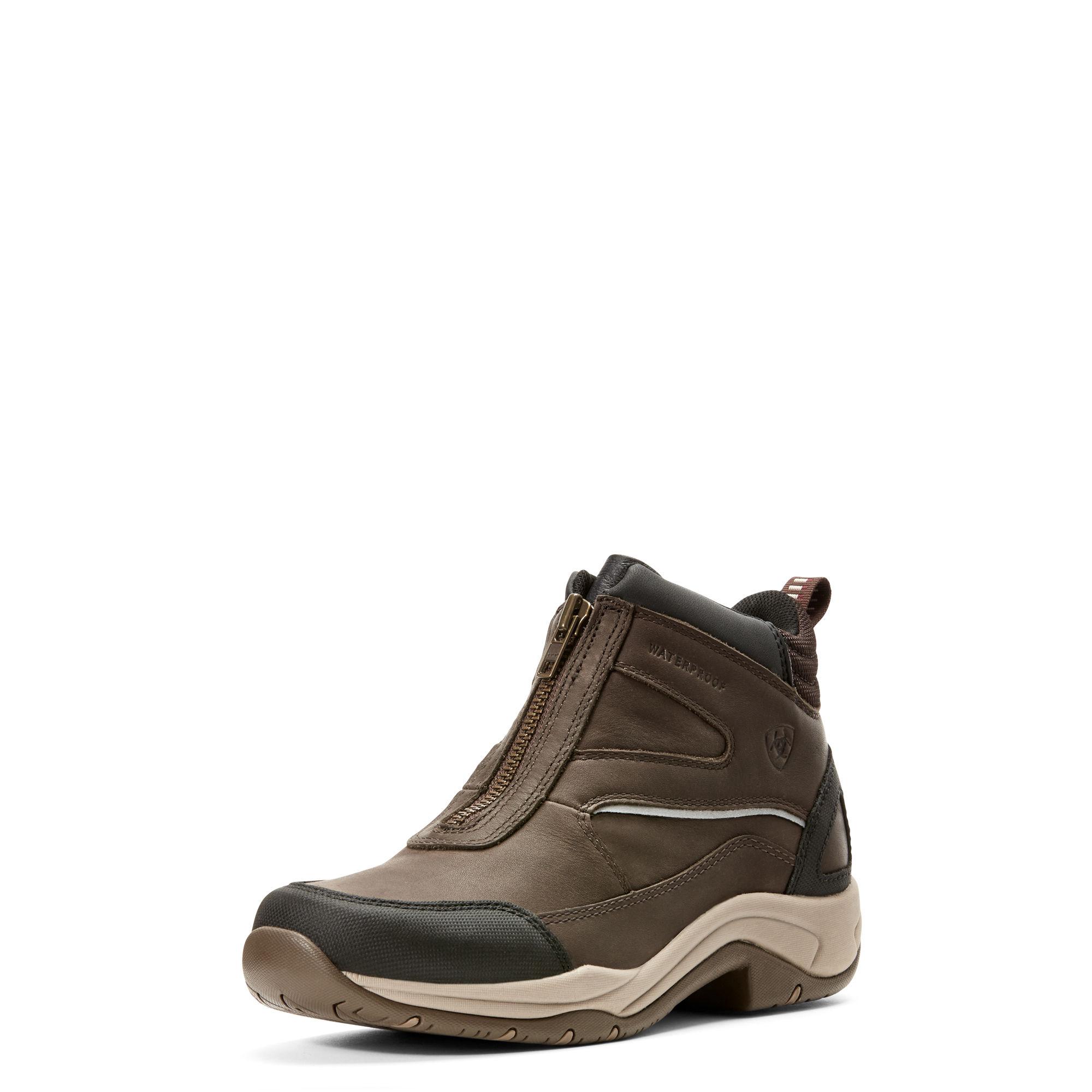 Ariat Telluride Zip H2O donkerbruin maat:40 - Paardrijlaarzen en Schoenen