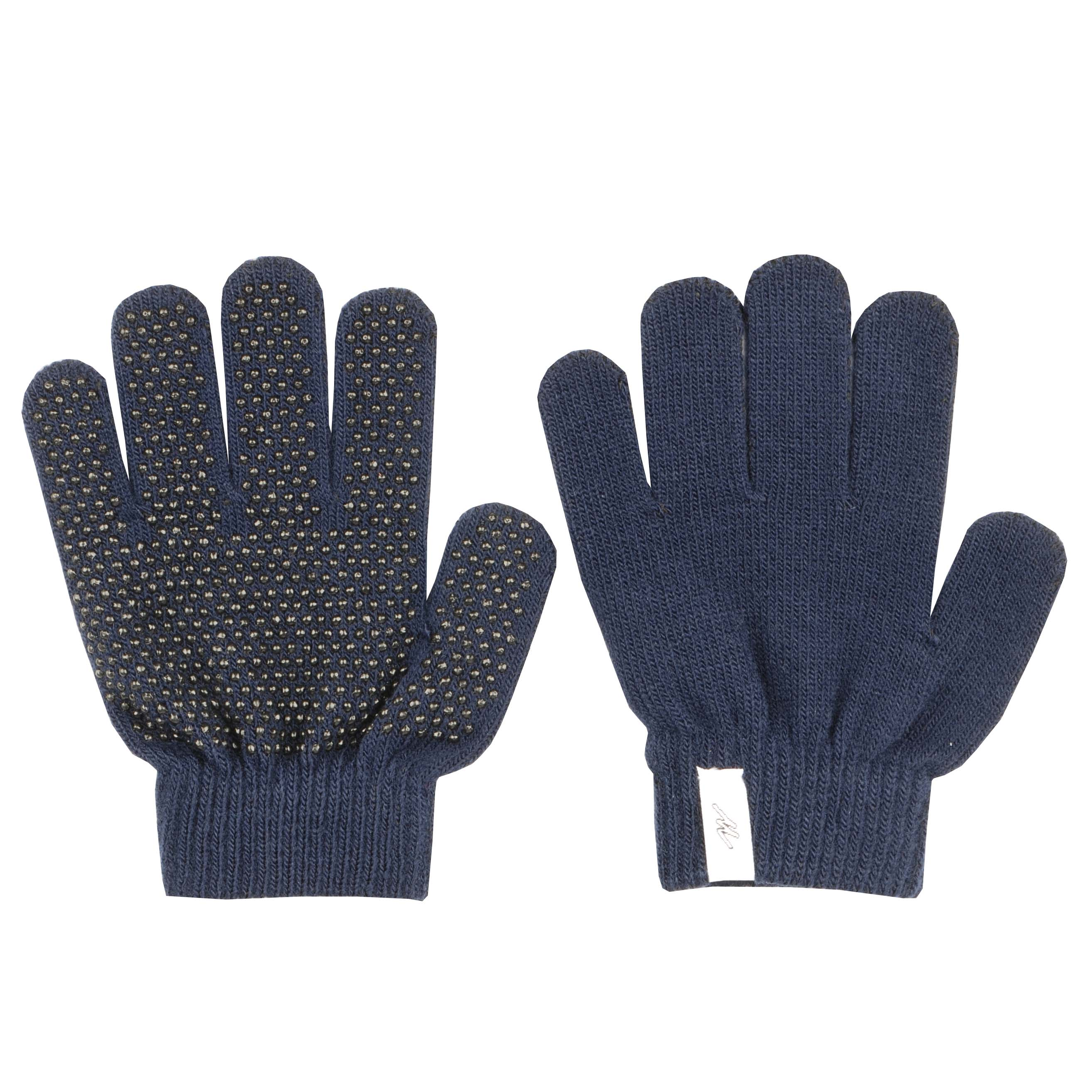 Mondoni Magic Gloves kinder handschoenen donkerblauw