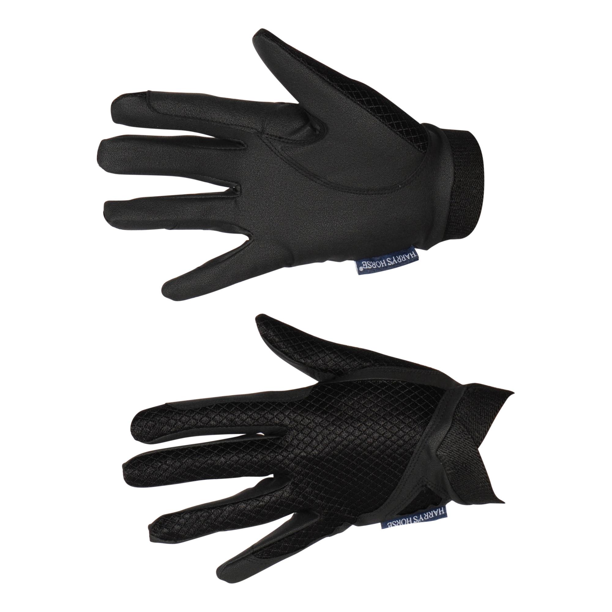 Harrys Horse Sorrento handschoenen zwart maat:m