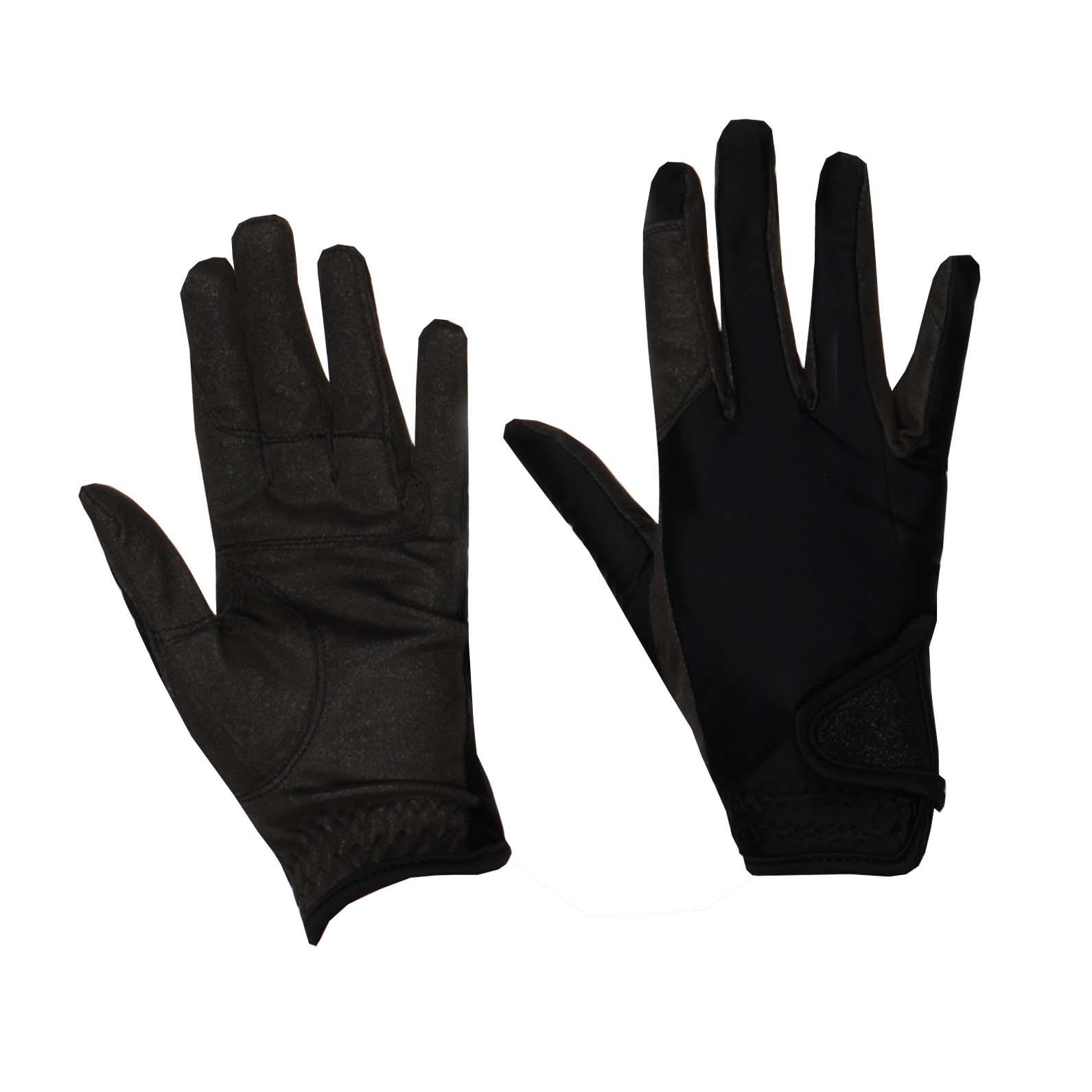 Mondoni Medellin handschoenen zwart maat:s