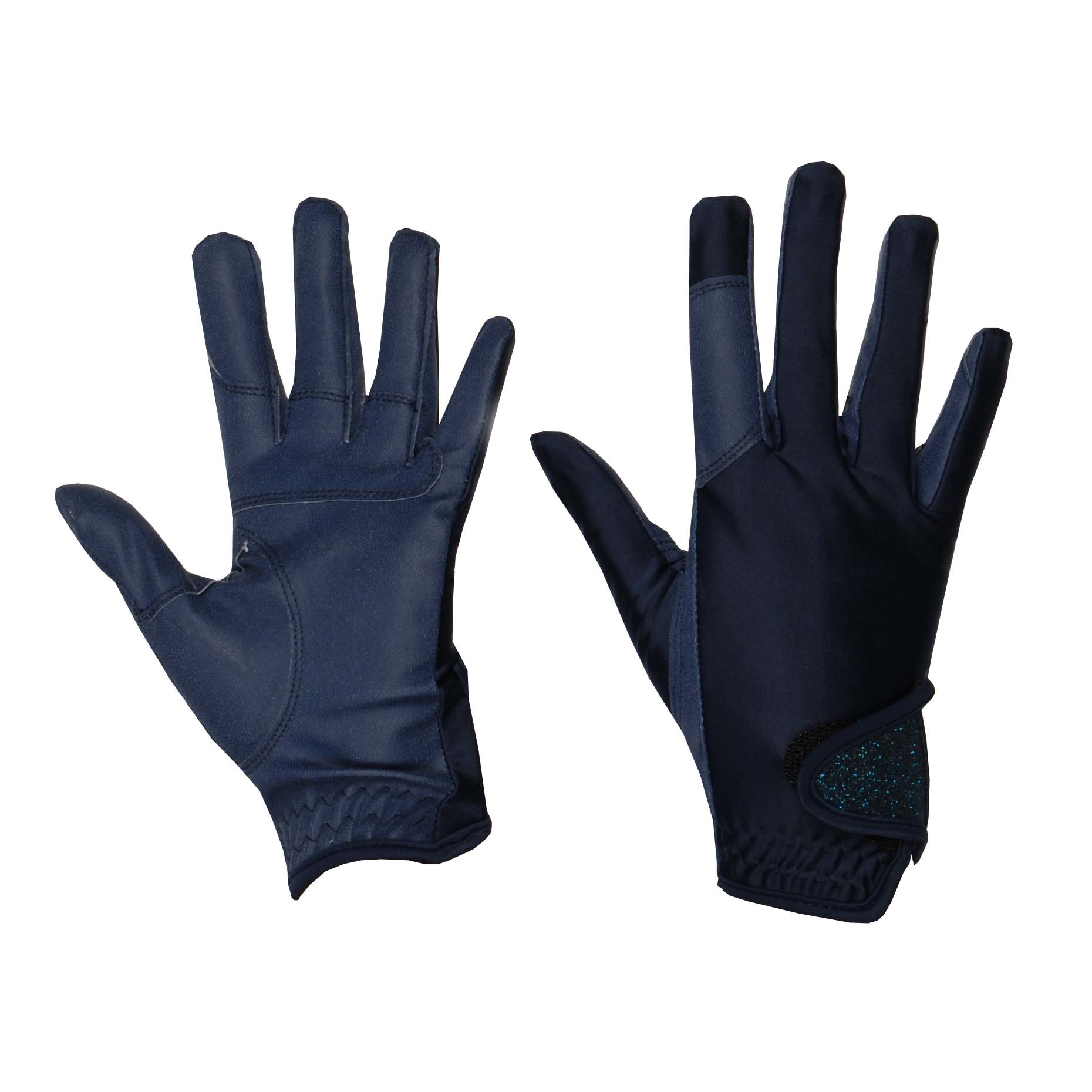 Mondoni Medellin handschoenen donkerblauw maat:s