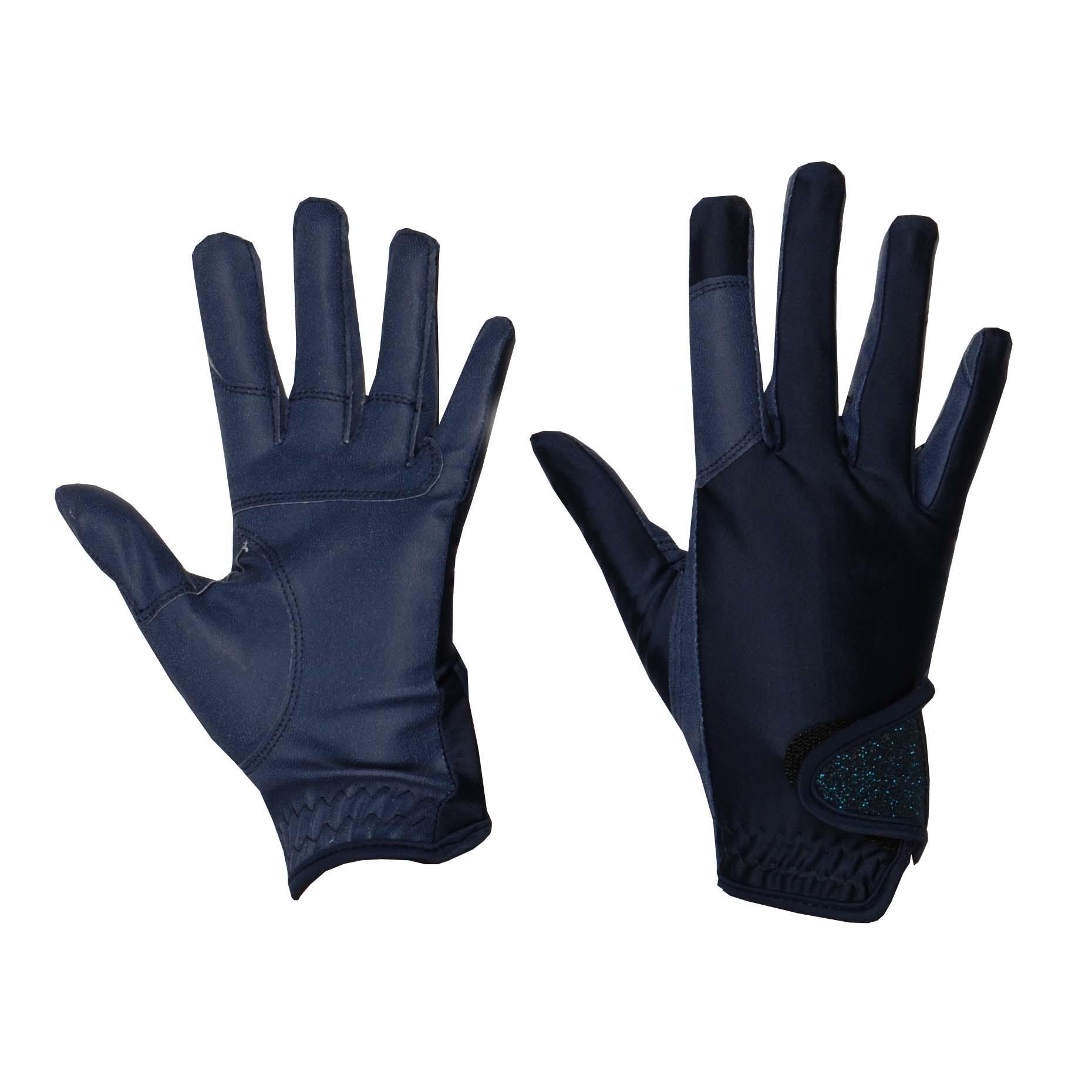 Mondoni Medellin handschoenen donkerblauw maat:l