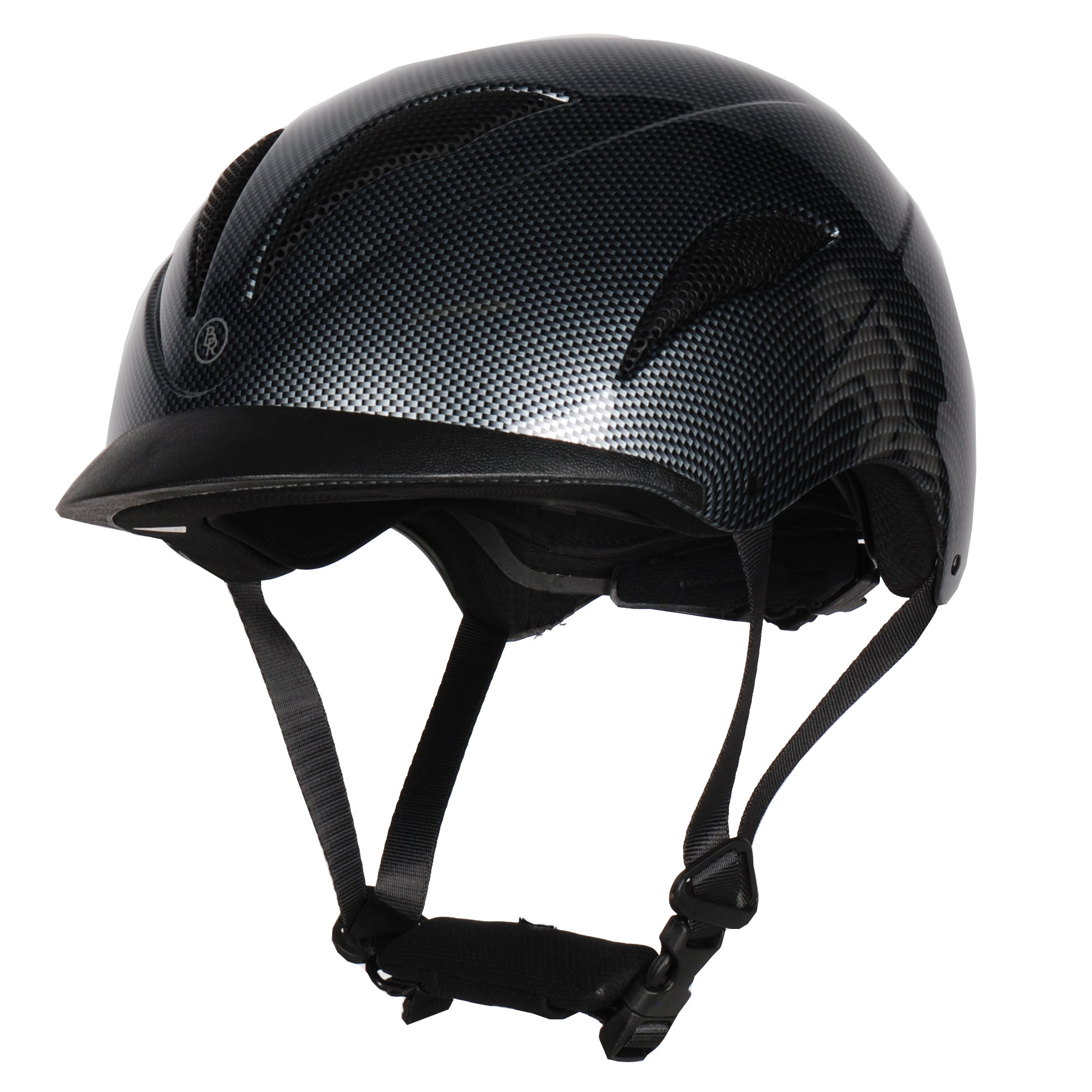 BR Xtreme Carbon cap zwart maat:59-61
