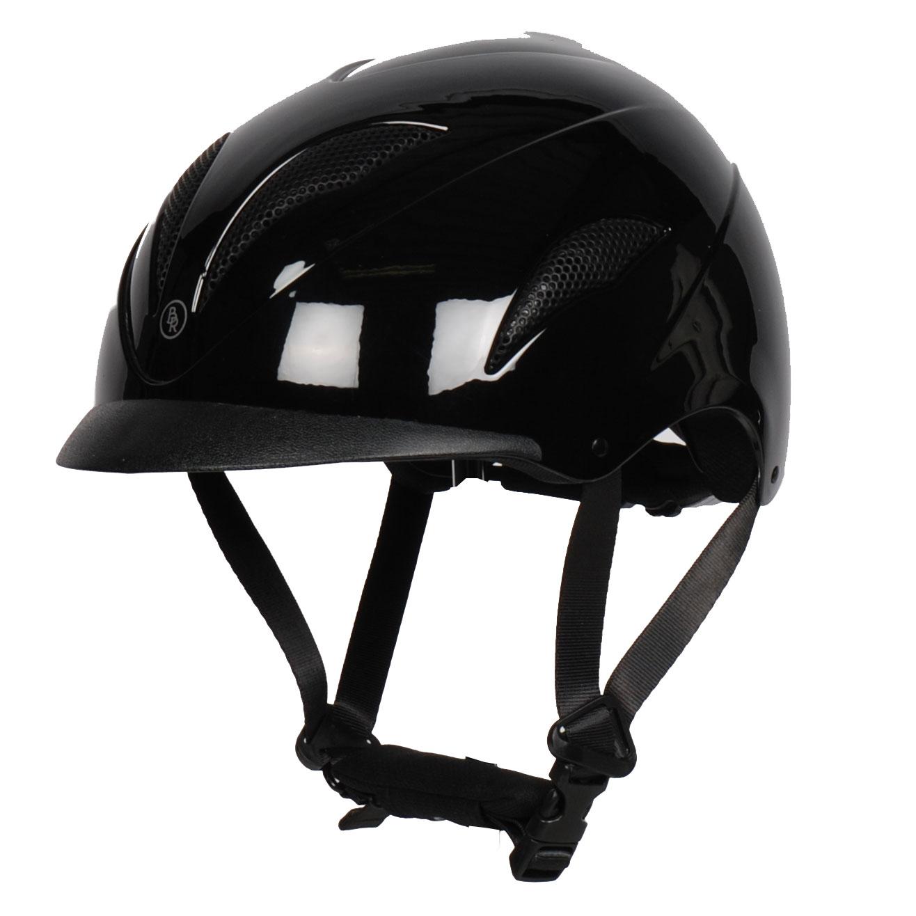 BR Xtreme Glans Carbon cap zwart maat:59-61
