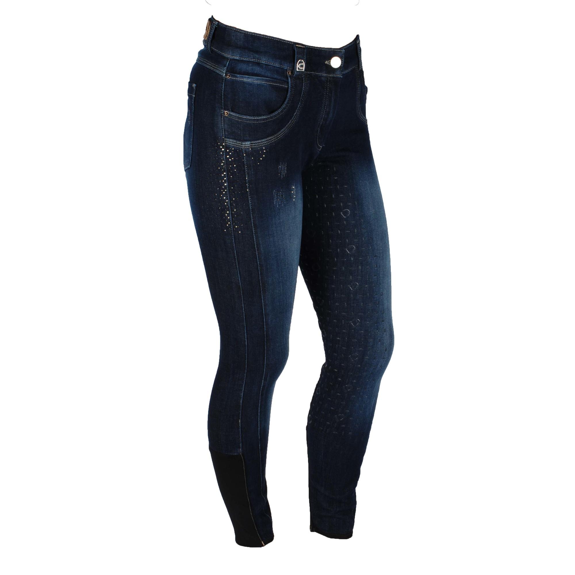 Cavallo Chaya Pro grip rijbroek jeans maat:40