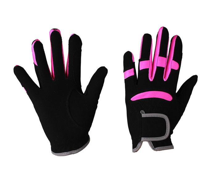 QHP Handschoen Multi Color zwart maat:xxs
