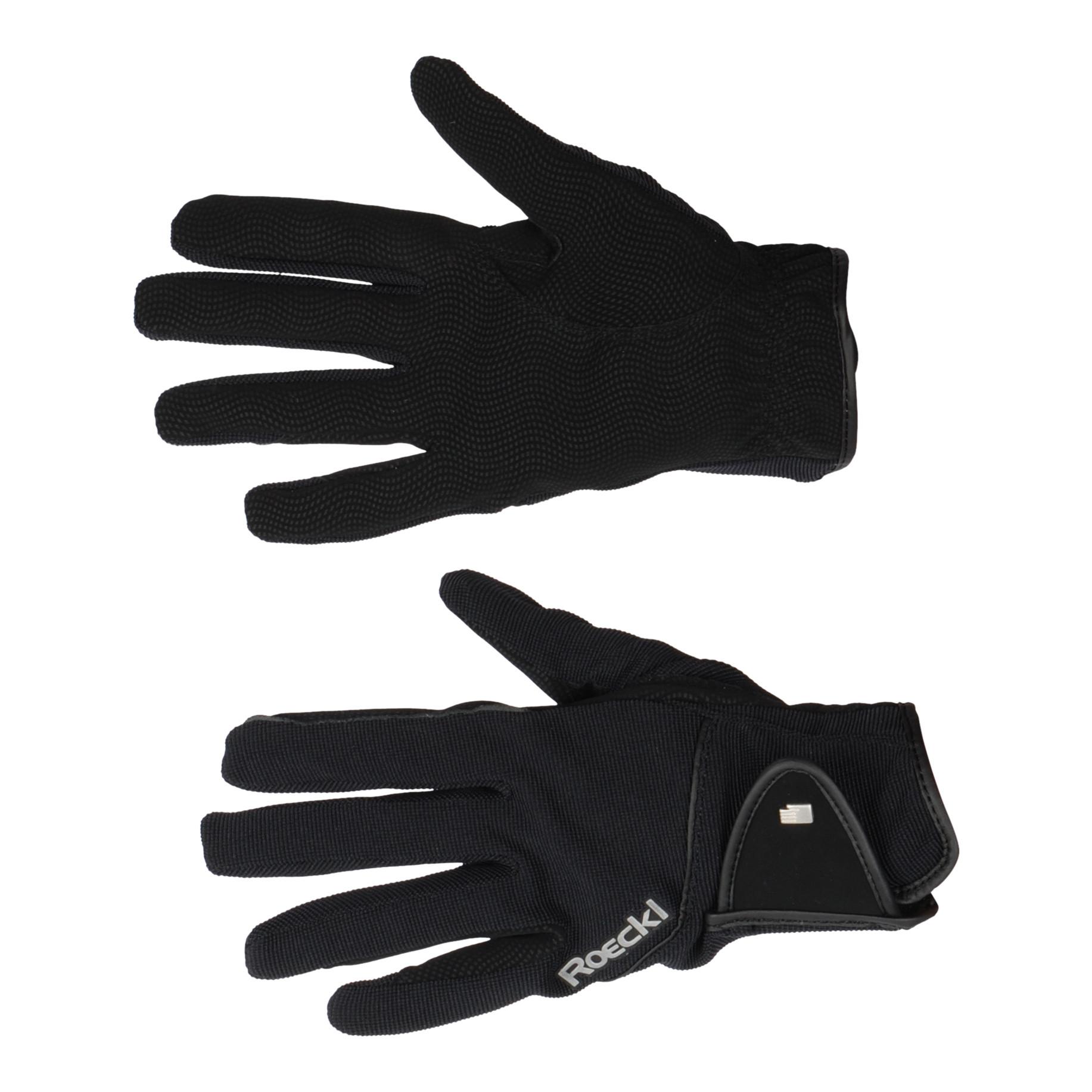 Roeckl Milano handschoenen zwart maat:9
