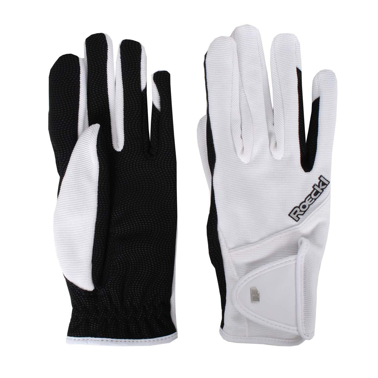 Roeckl Milano handschoenen wit maat:8,5