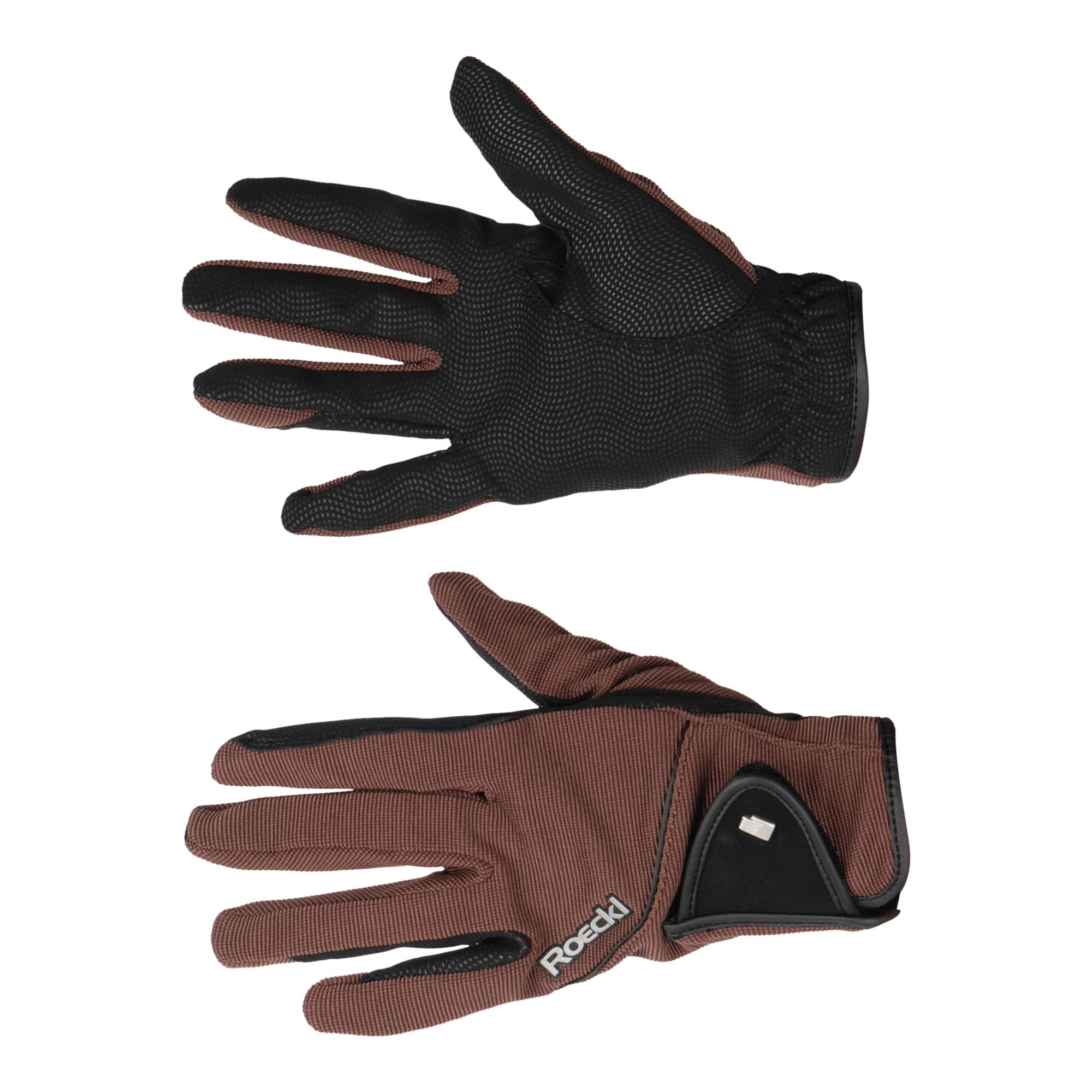 Roeckl Milano handschoenen donkerbruin maat:8