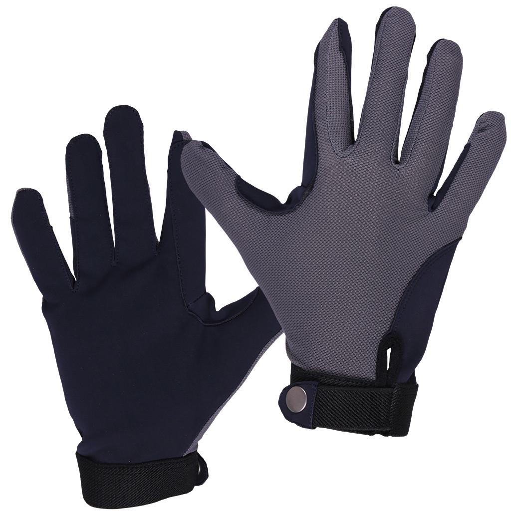 QHP Handschoen Mesh grijs maat:xs