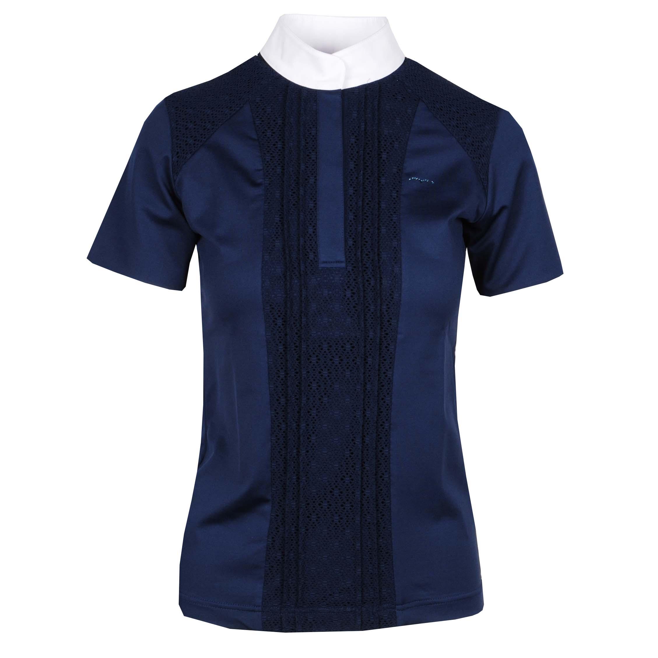 Animo Bel wedstrijdshirt donkerblauw maat:36