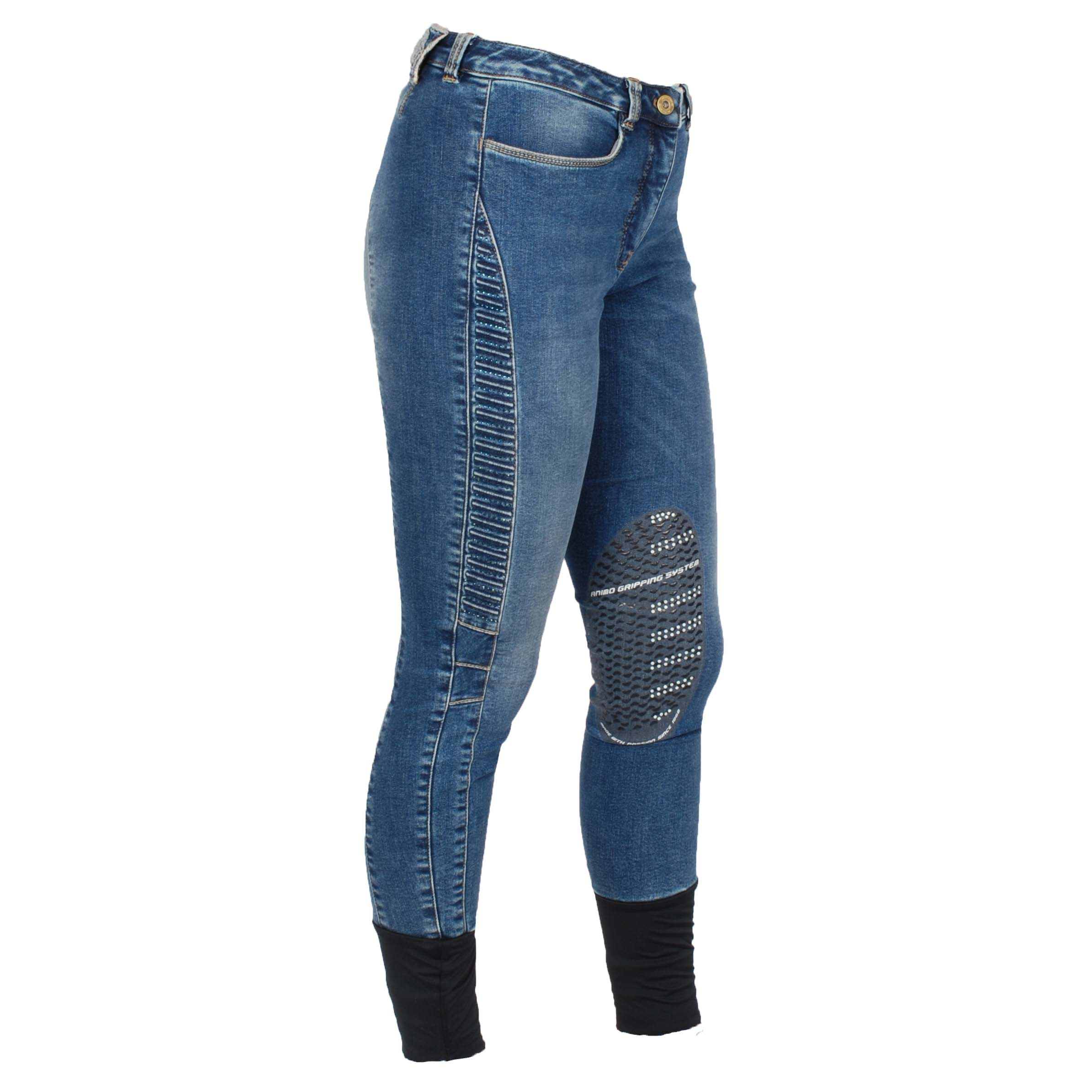Animo Niwo jeans rijbroek jeans maat:34