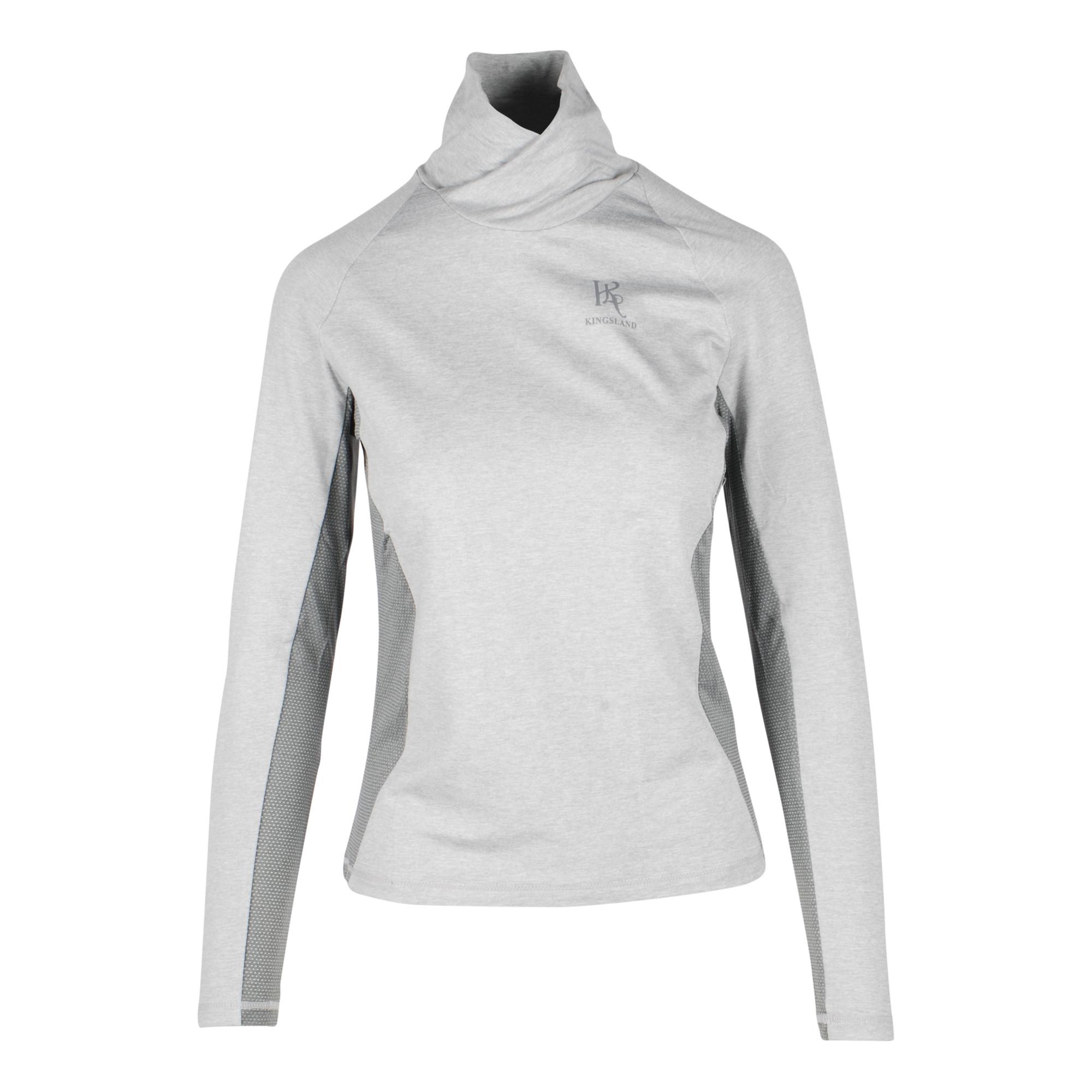 Kingsland Nora techshirt grijs maat:s