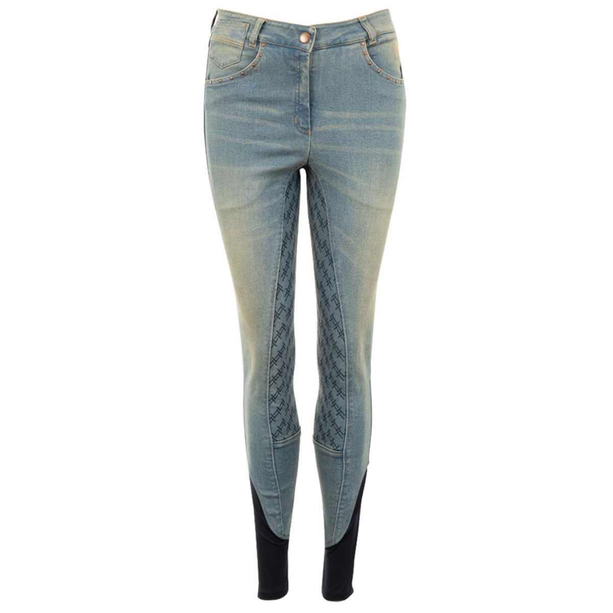 Anky Light Denim FG jeans rijbroek jeans maat:38
