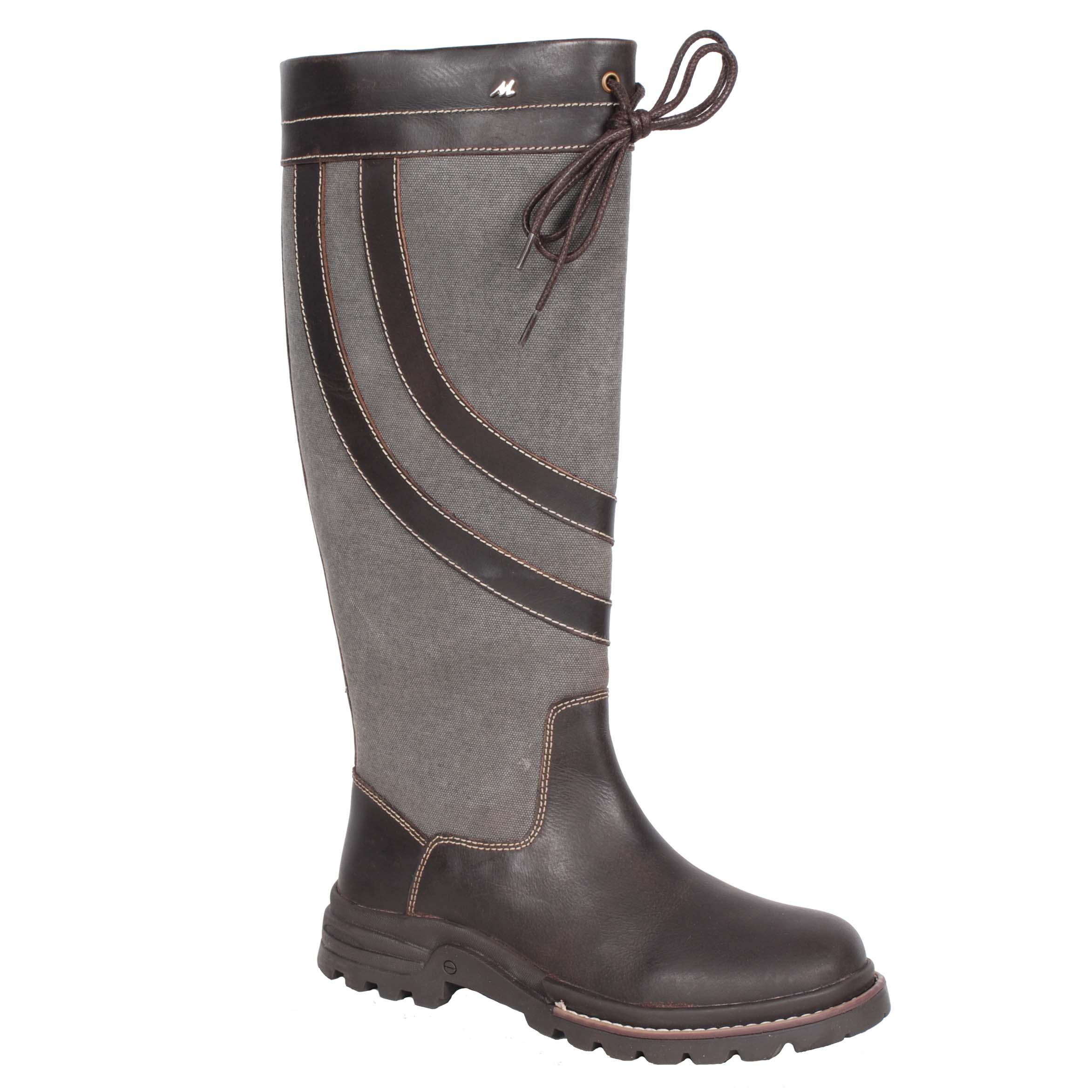 Mondoni Nordland outdoor laarzen bruin maat:37