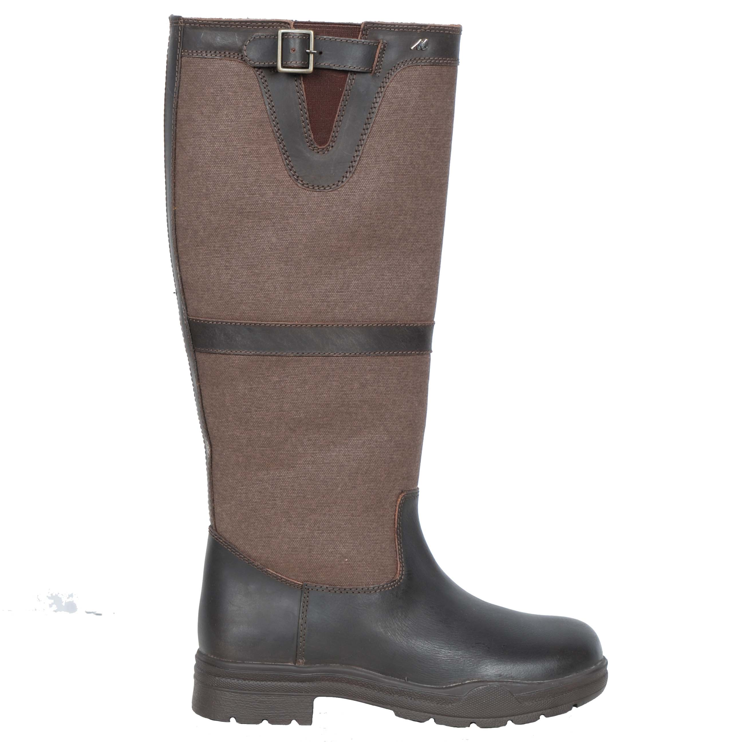 Mondoni Telemark bruin outdoorlaars bruin maat:37