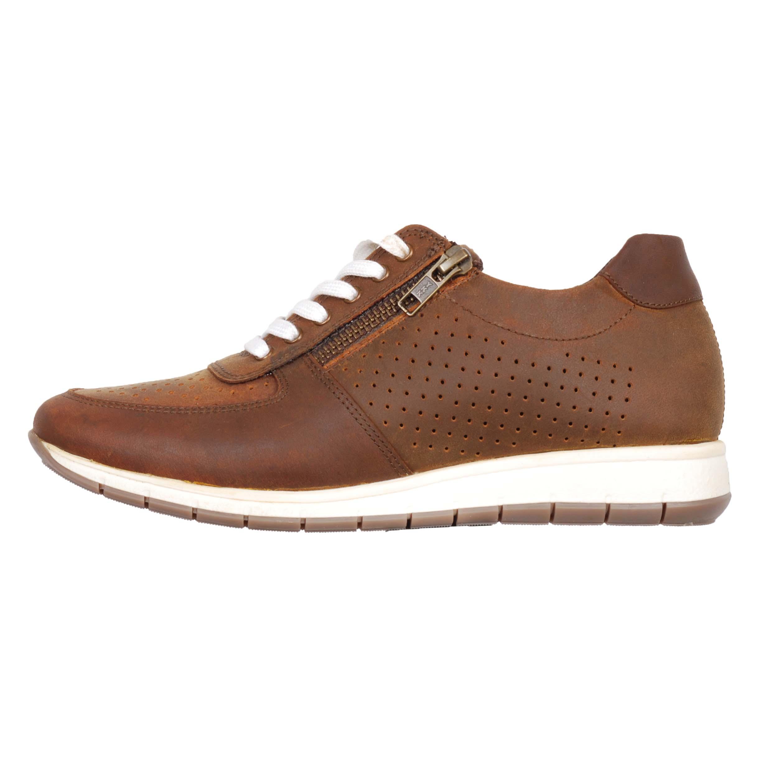 Mondoni Vestfold sneakers bruin maat:37
