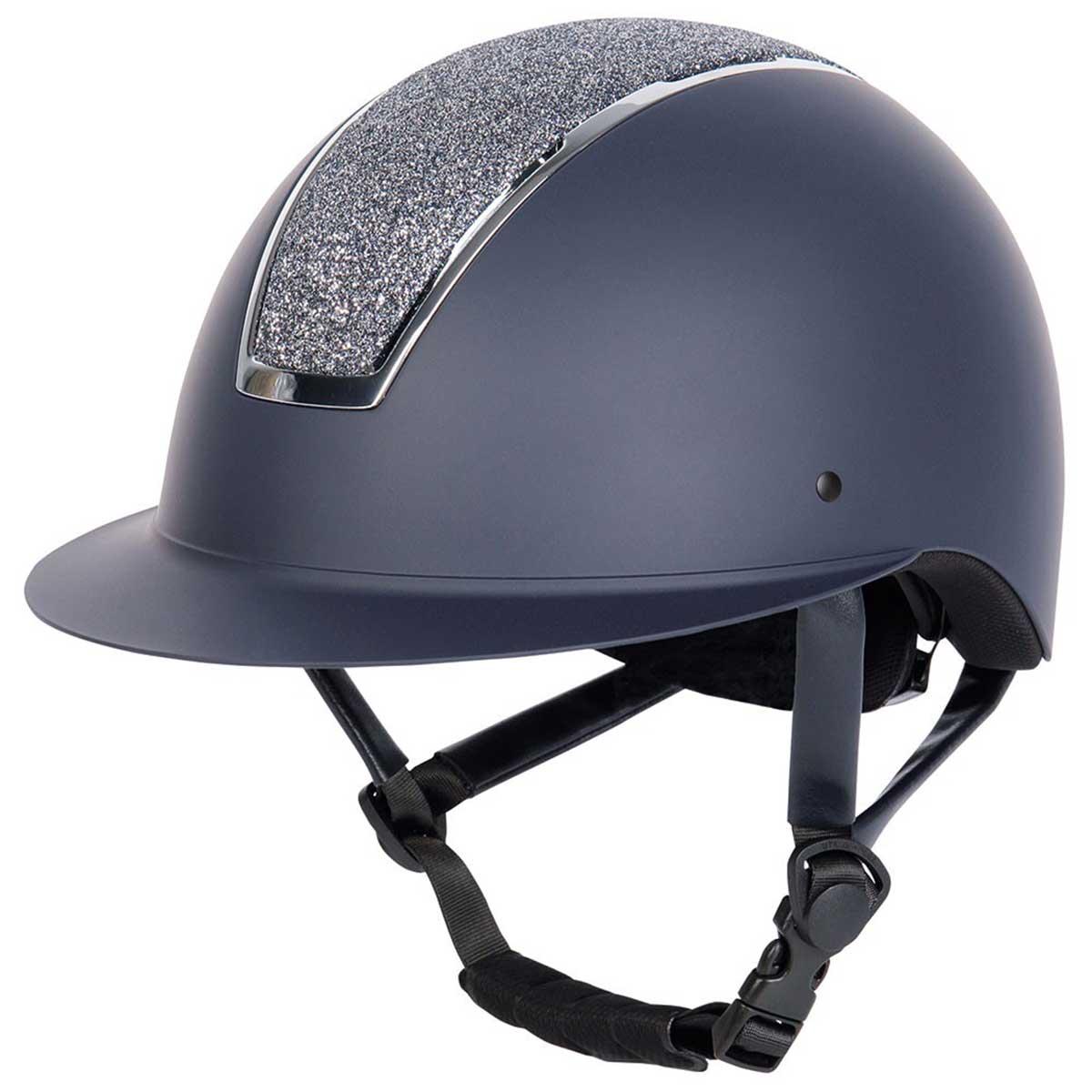 Harrys Horse Royal Sparkle cap donkerblauw maat:55-57