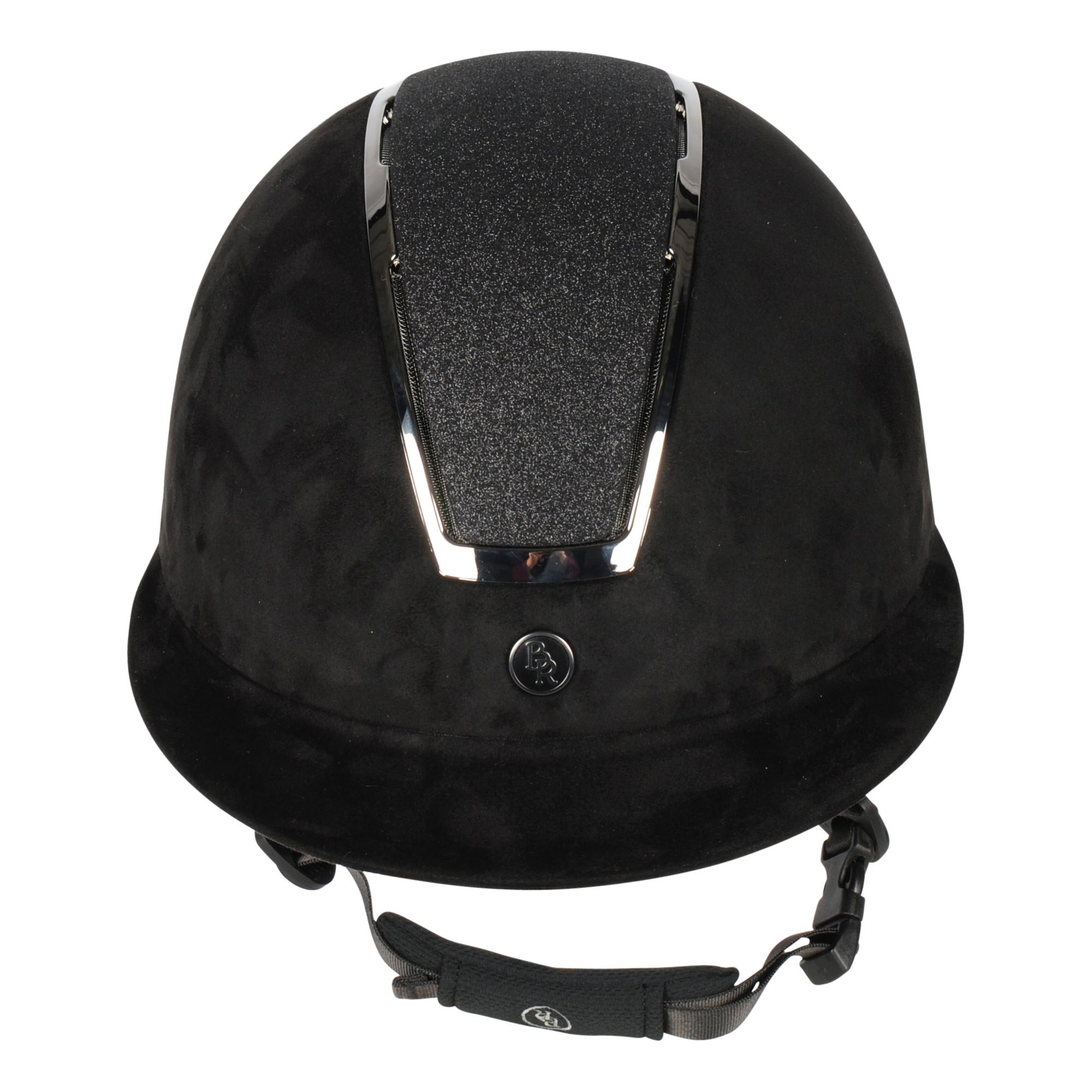 BR Omega Glitter cap zwart maat:57-60