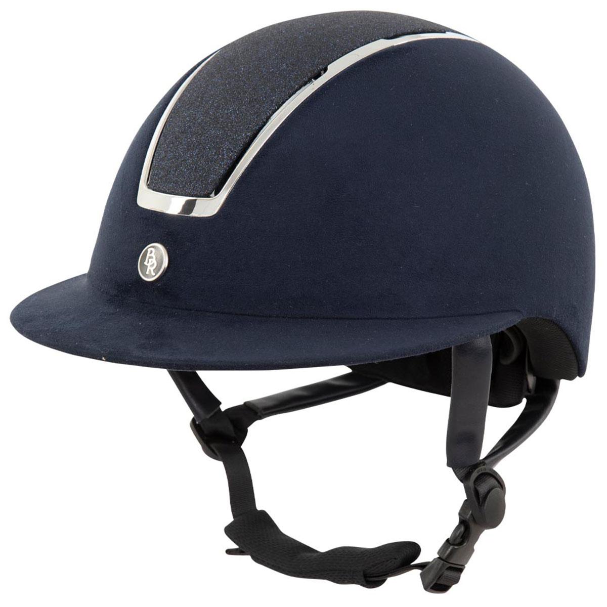 BR Omega Glitter cap donkerblauw maat:52-55 - Veiligheid