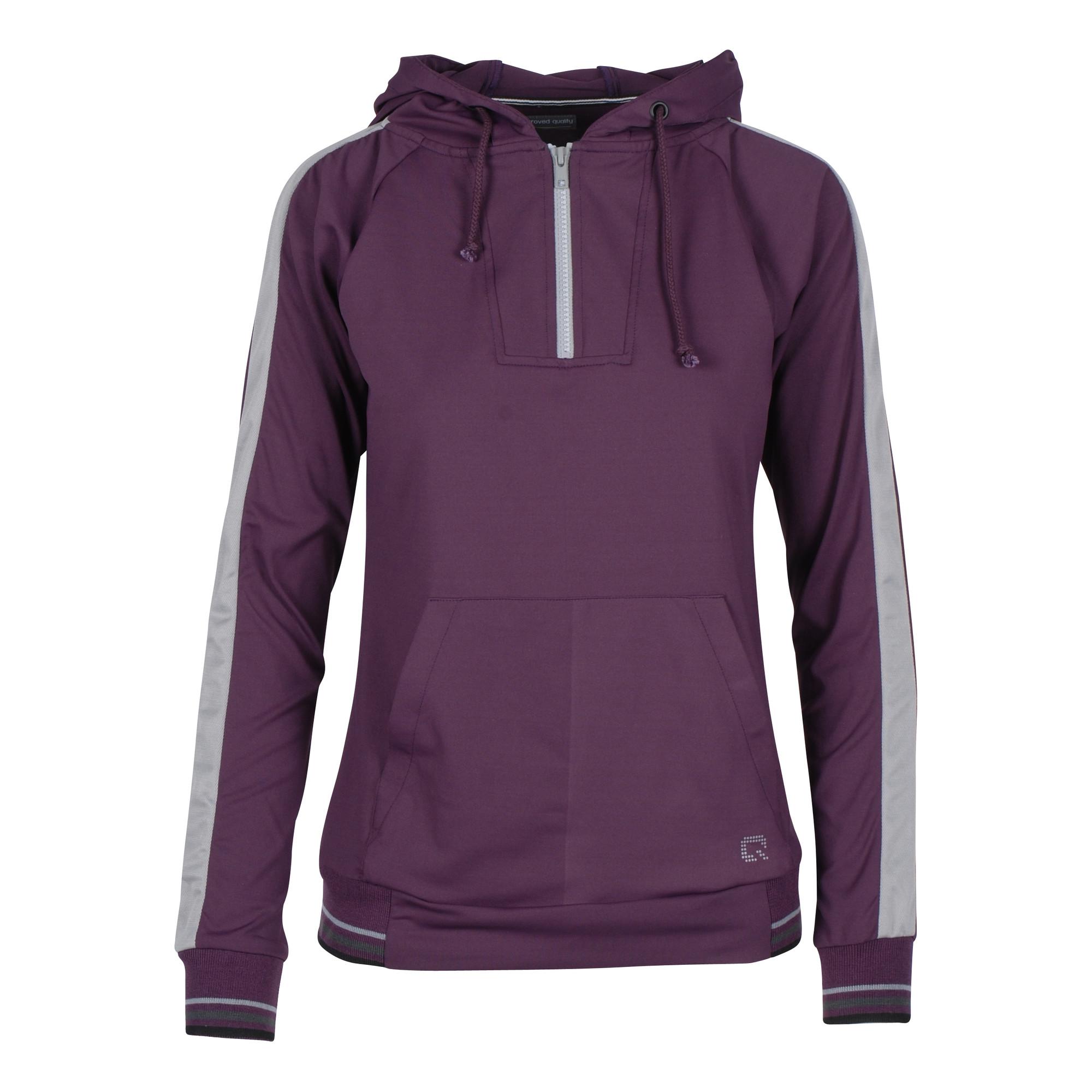 QHP Noleste sweater paars maat:40