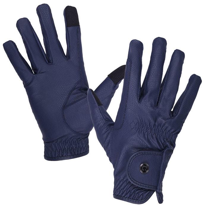 QHP Handschoen Force donkerblauw maat:s
