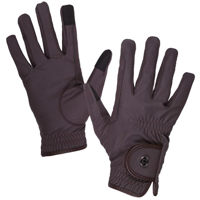 QHP Handschoen Force bruin maat:xs