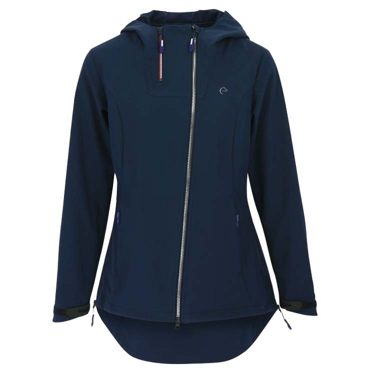 Equi Theme Candyce softshell donkerblauw maat:s