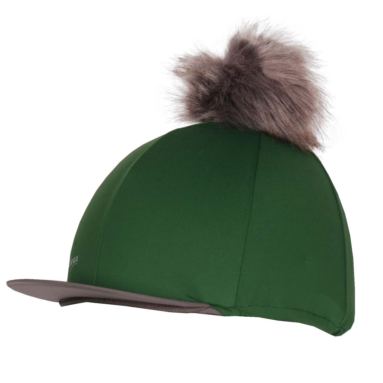 LeMieux Cap Cover Silks groen