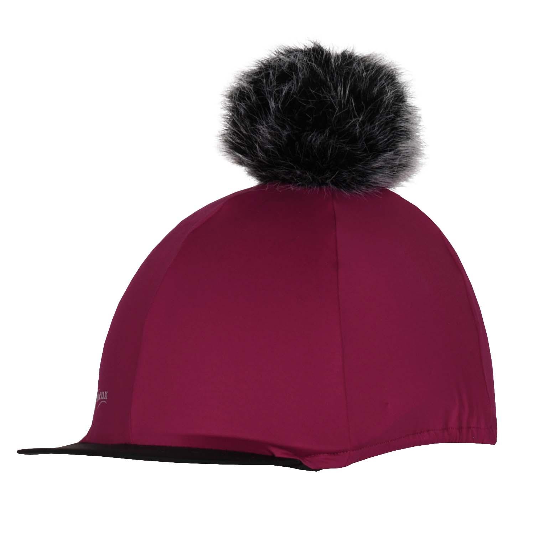 LeMieux Cap Cover Silks bordeaux