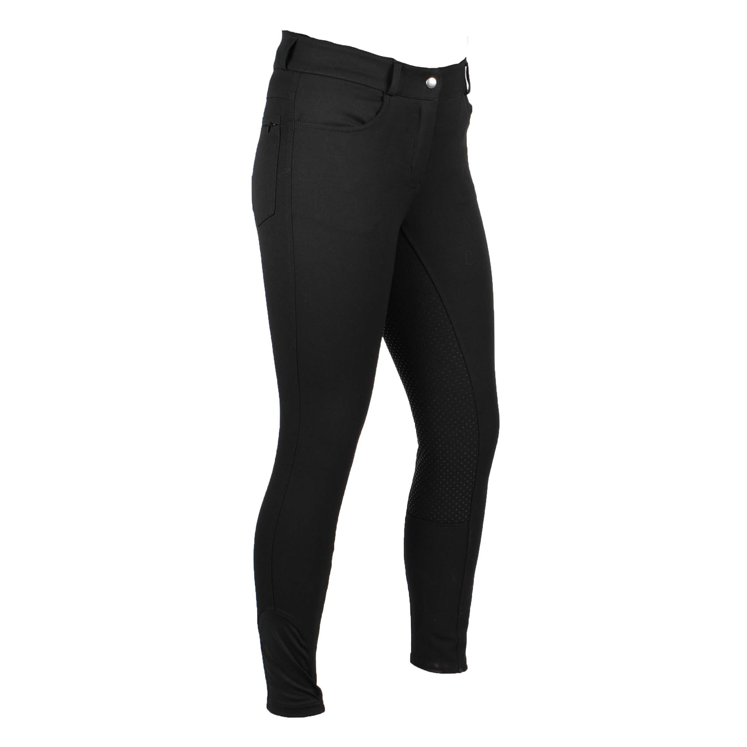 Mondoni Sada high waist full grip rijbroek zwart maat:40