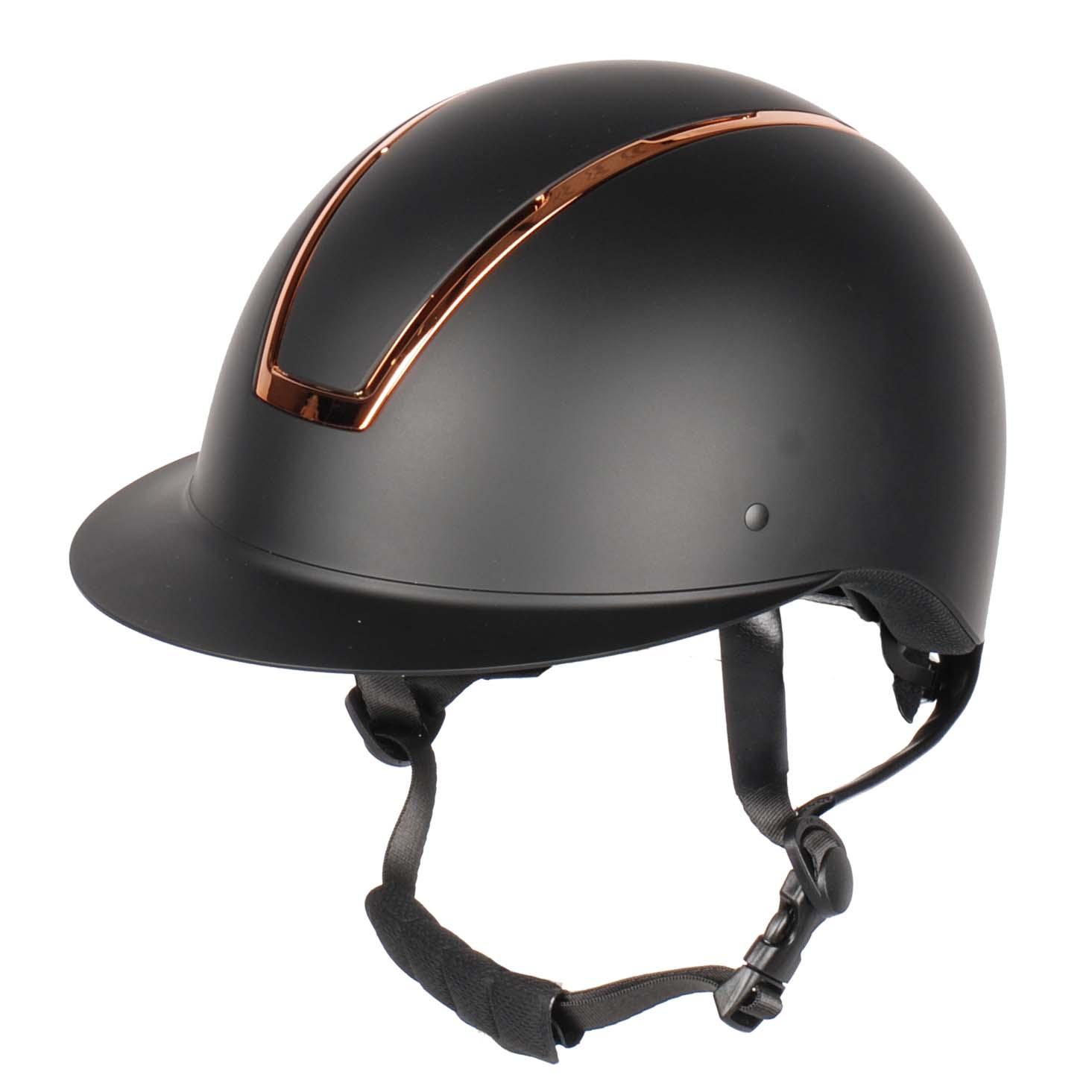 Harrys Horse Royal Matt cap zwart maat:52-55 - Paardrijcaps