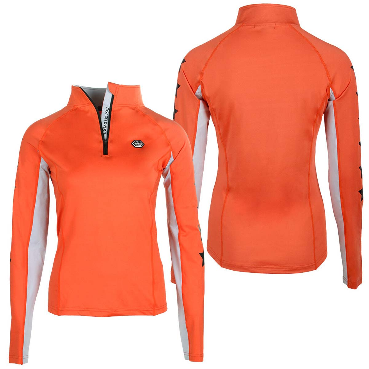 QHP QCross Vegas techshirt oranje maat:36