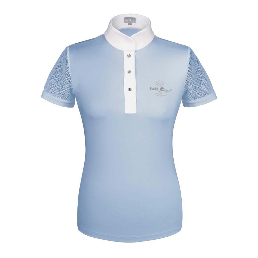 Fair Play Cecile wedstrijdshirt lichtblauw maat:40