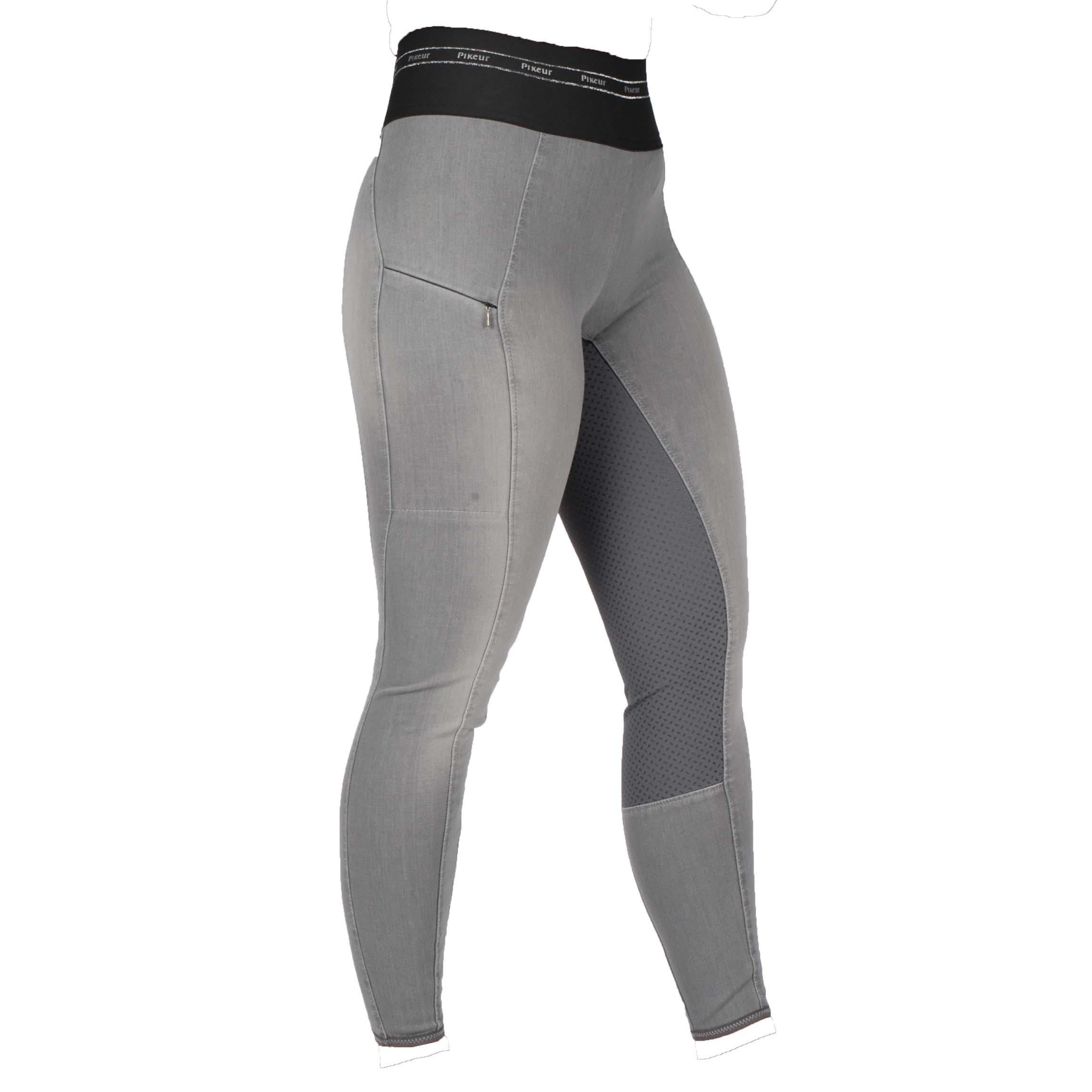 Pikeur Ivana FG jeans rijlegging grijs maat:40